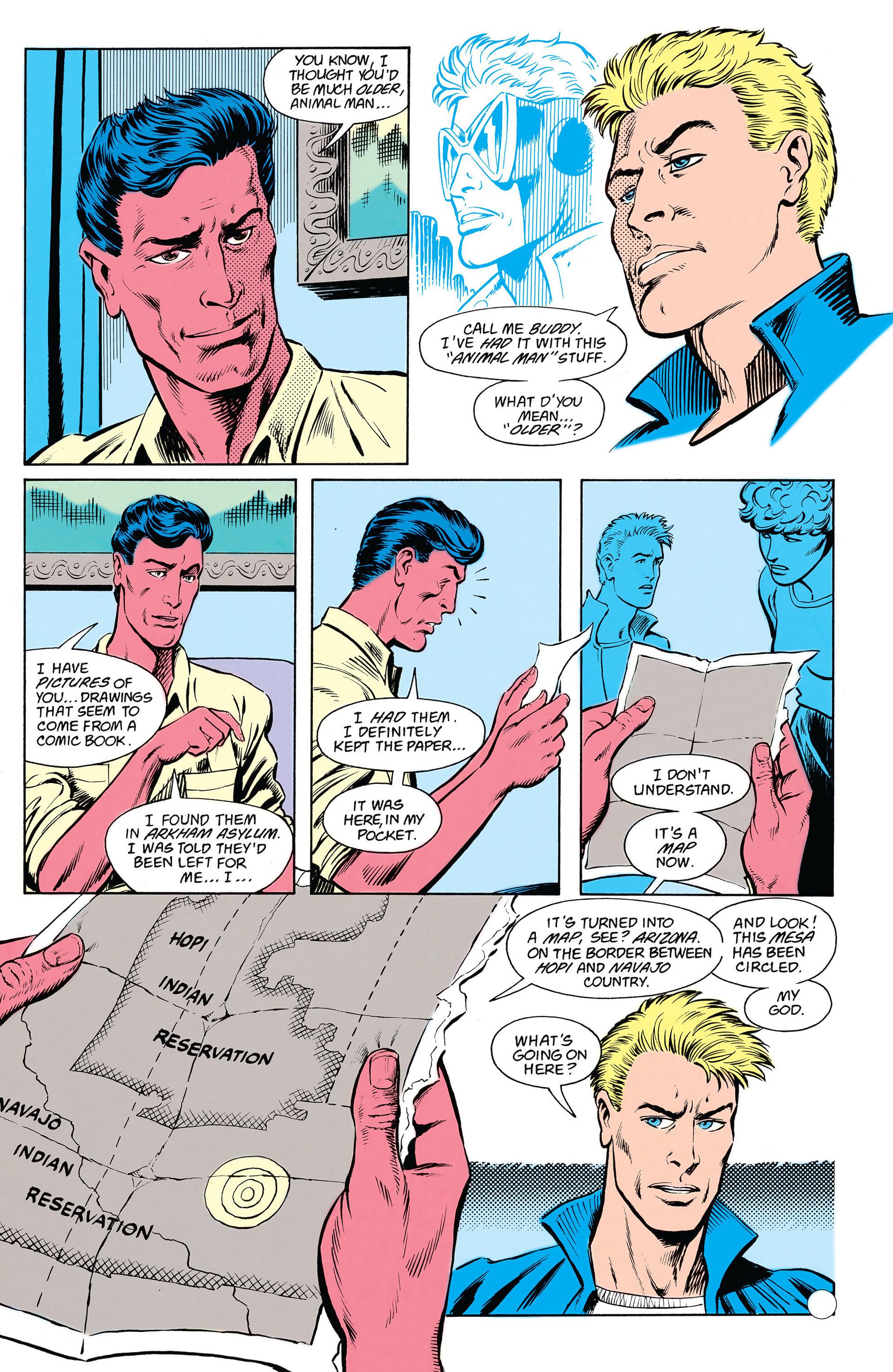 Read online Animal Man (1988) comic -  Issue #18 - 6