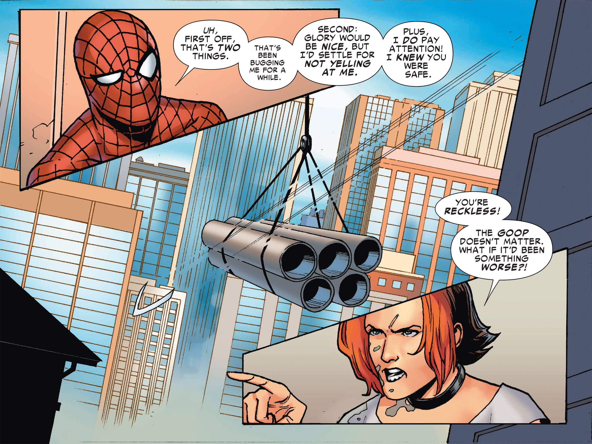 Read online Ultimate Spider-Man (Infinite Comics) (2016) comic -  Issue #2 - 35
