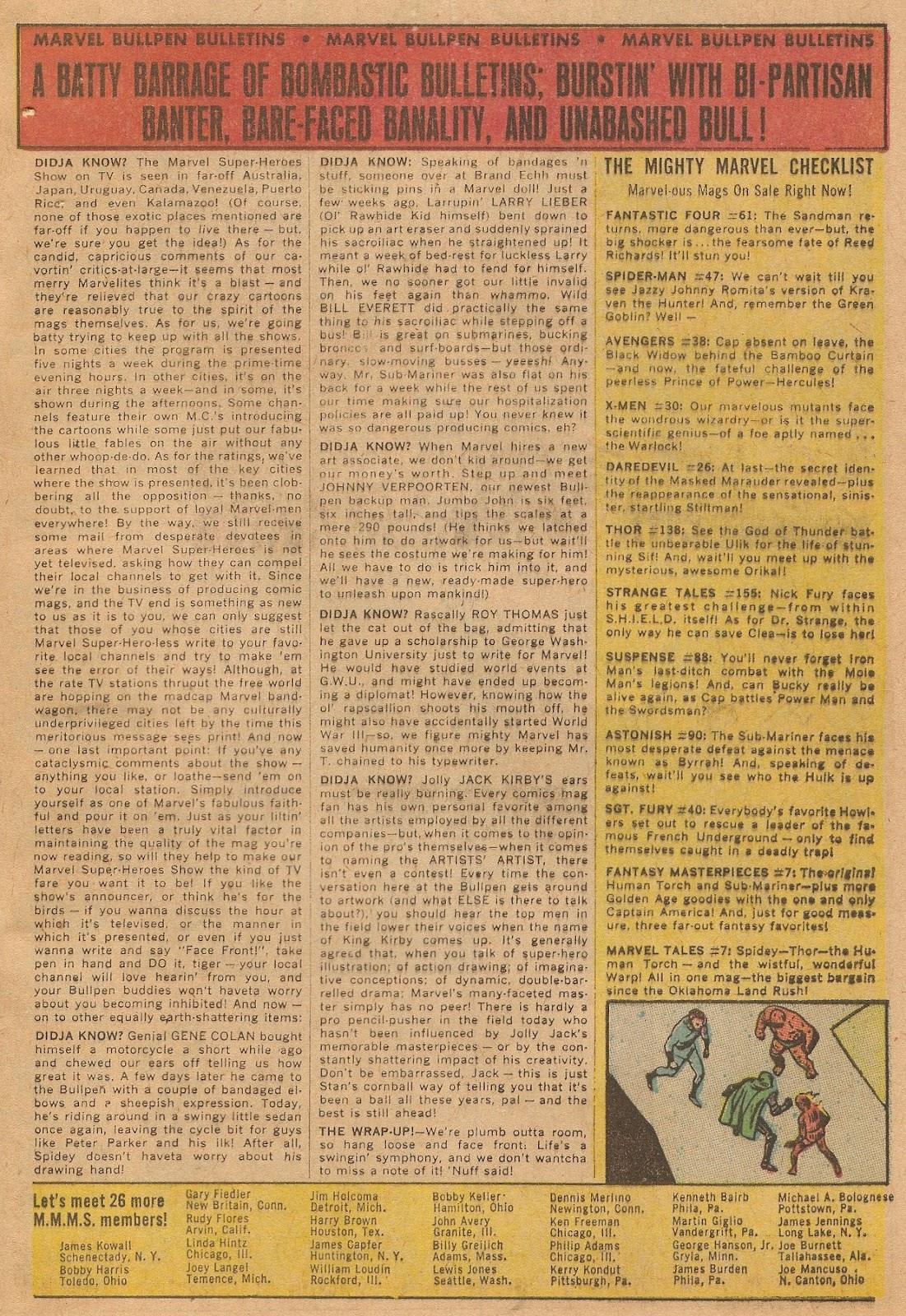 Marvel Collectors' Item Classics issue 8 - Page 65