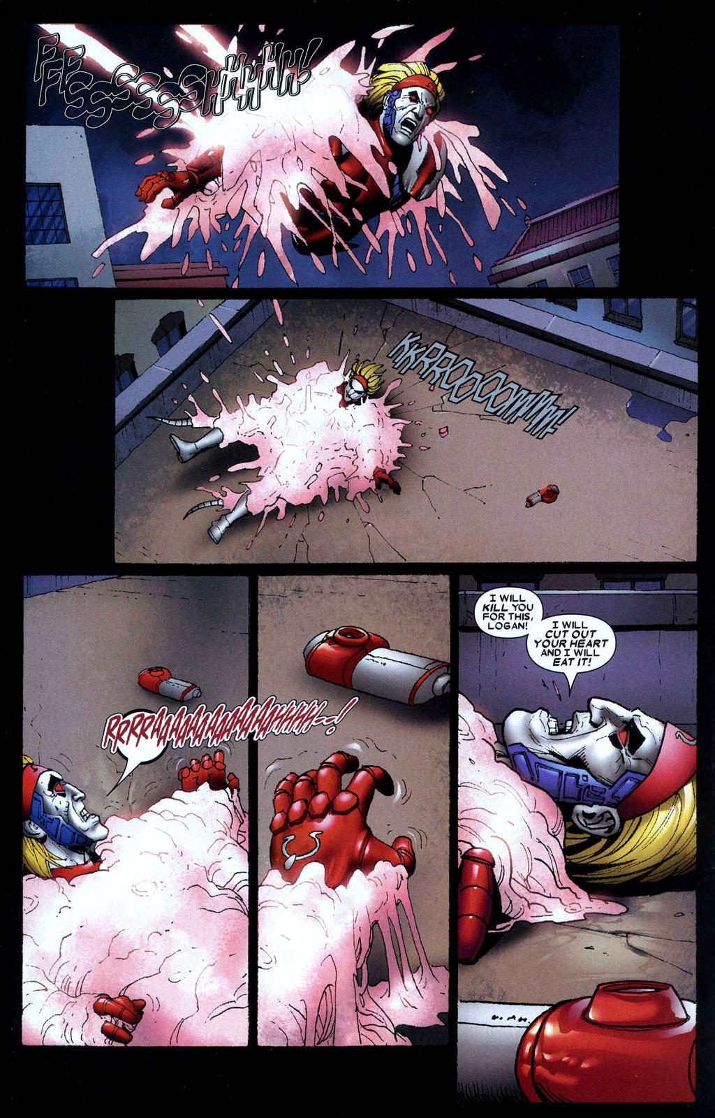 Read online Wolverine: Origins comic -  Issue #10 - 11