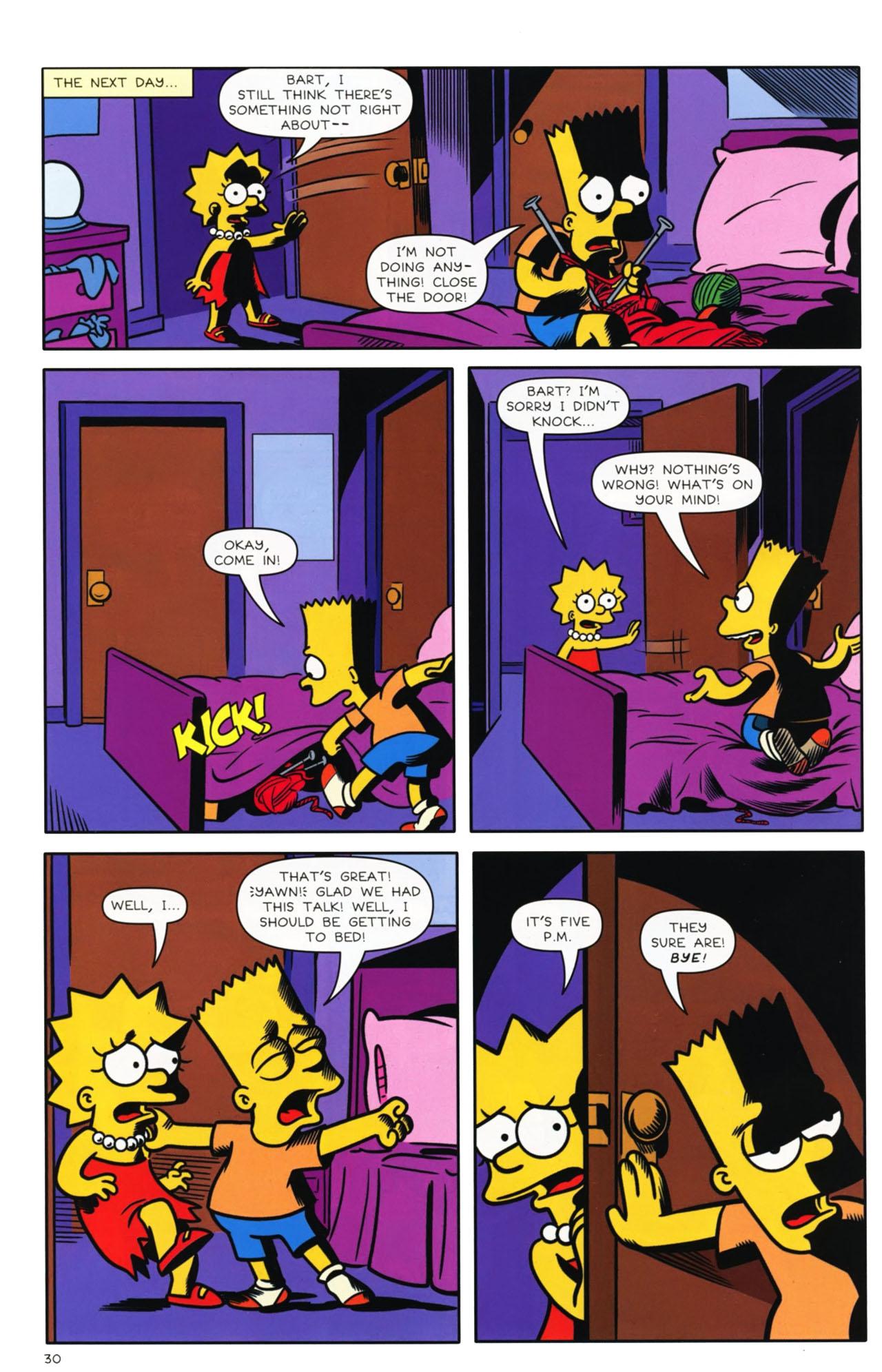 Read online Bongo Comics presents Comic Book Guy: The Comic Book comic -  Issue #3 - 25