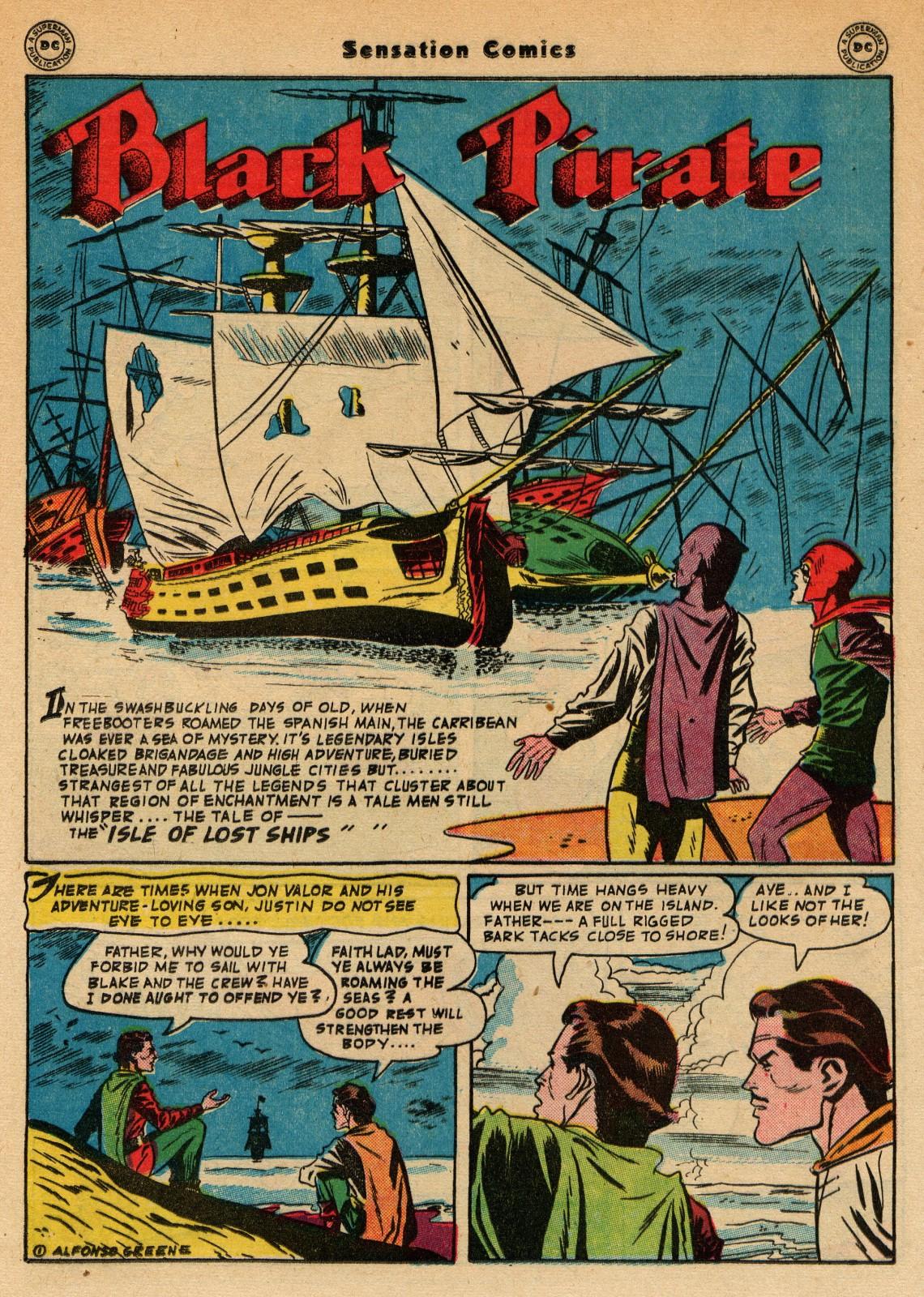 Read online Sensation (Mystery) Comics comic -  Issue #51 - 34