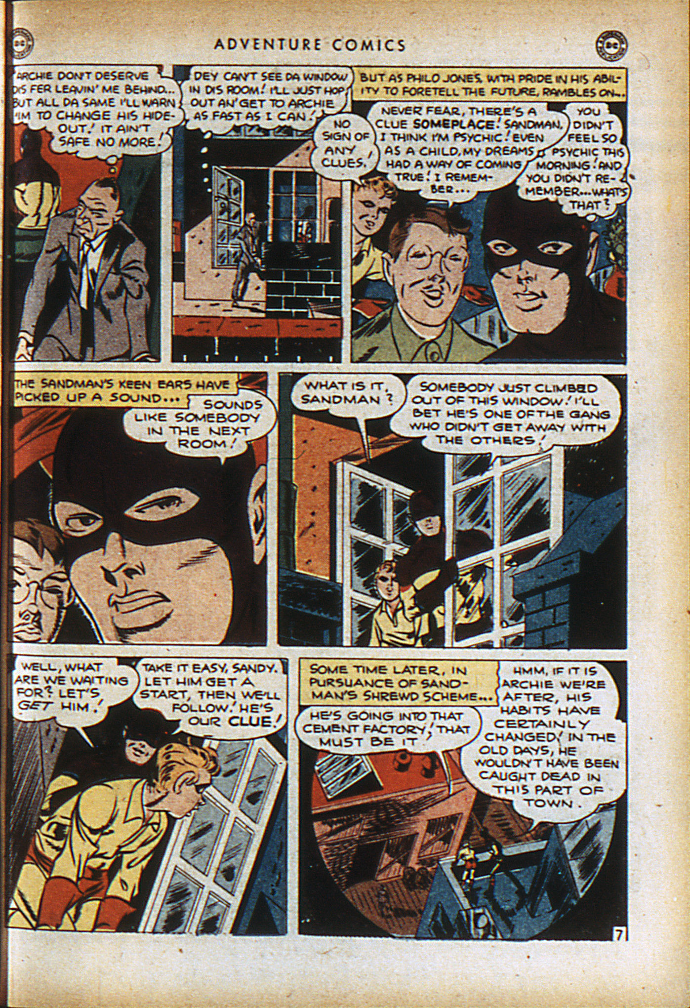 Read online Adventure Comics (1938) comic -  Issue #96 - 10