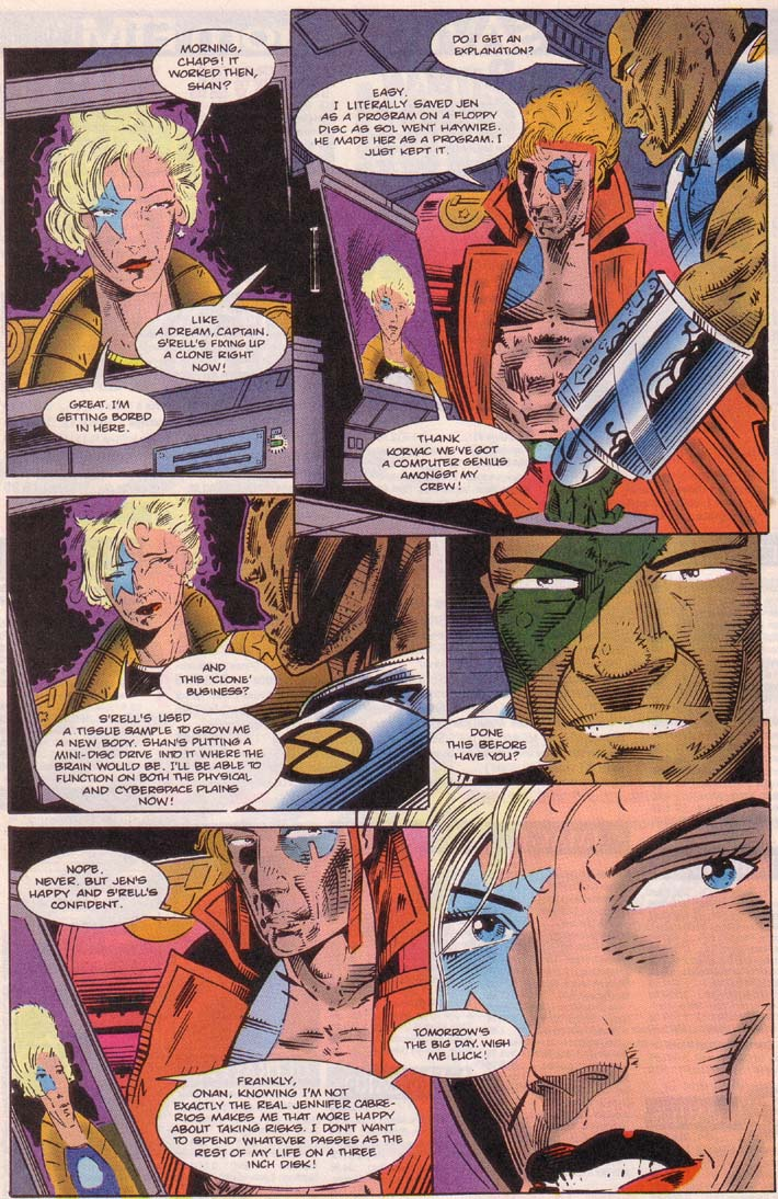 Read online Cyberspace 3000 comic -  Issue #5 - 22