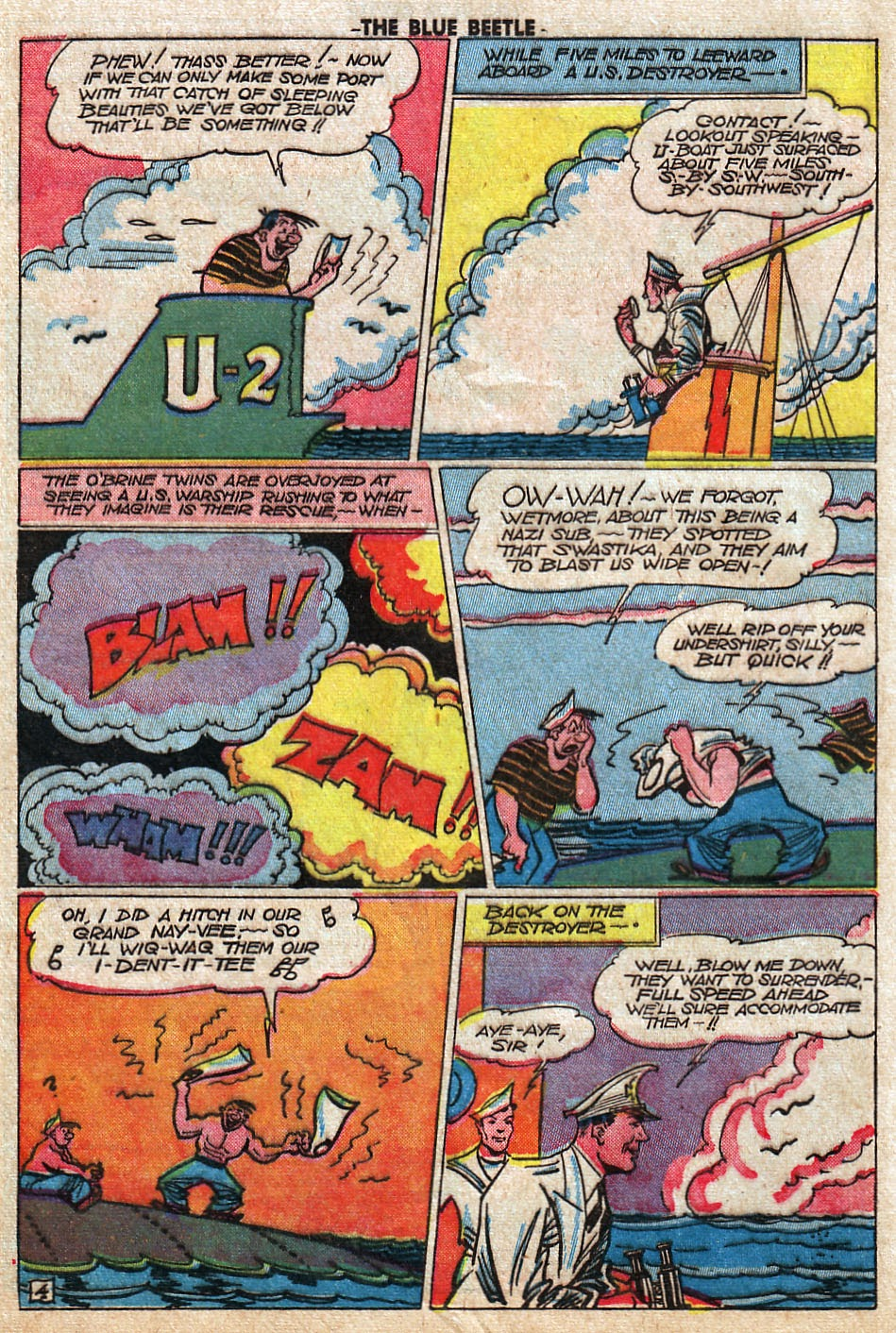 The Blue Beetle issue 33 - Page 36