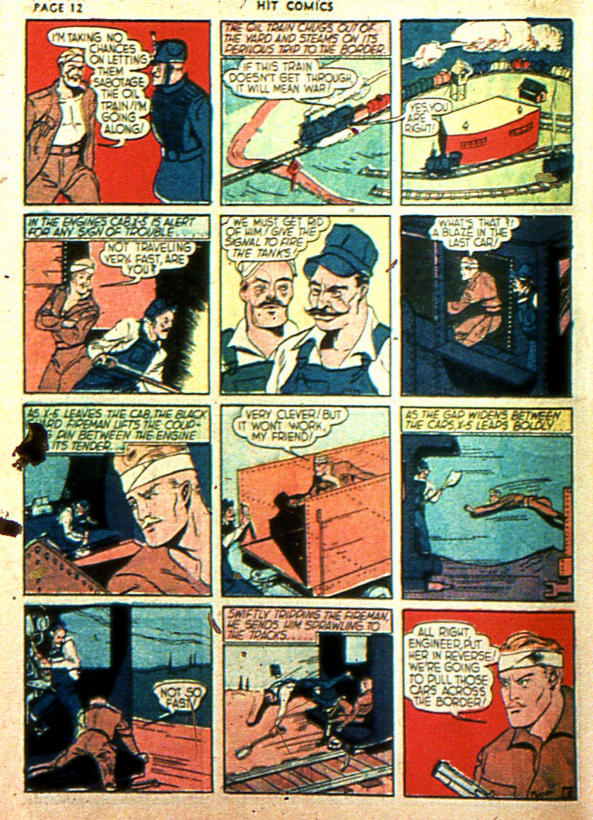 Read online Hit Comics comic -  Issue #2 - 14