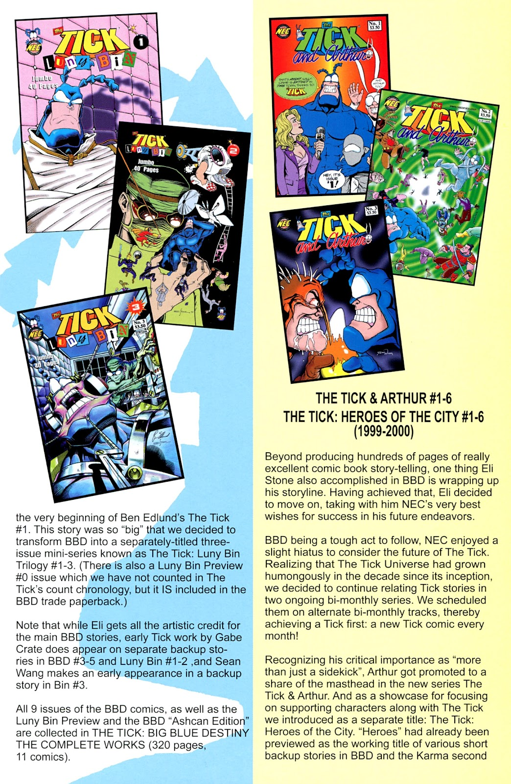 Read online The Tick comic -  Issue #100 - 39