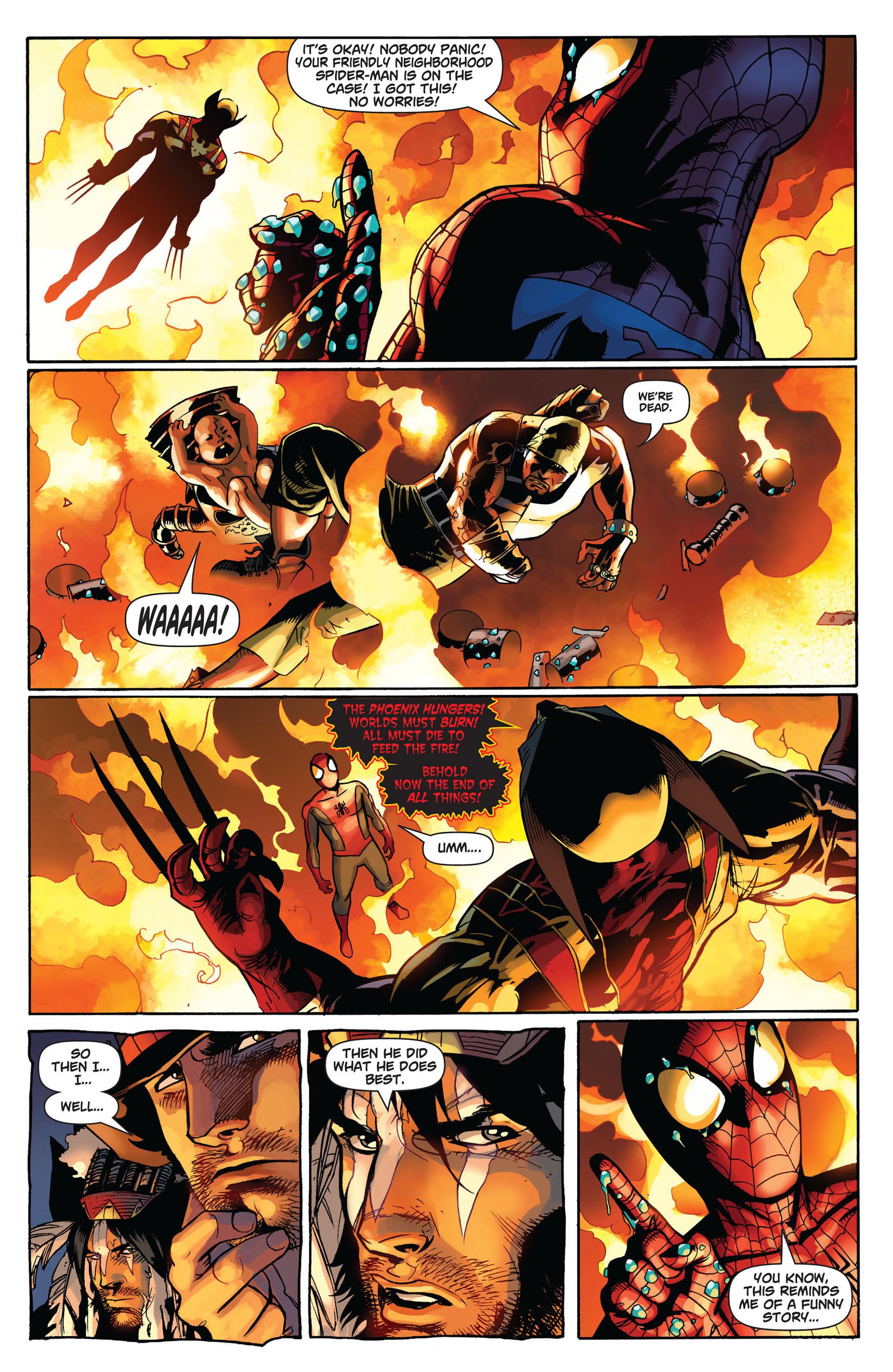 Read online Astonishing Spider-Man & Wolverine comic -  Issue #6 - 6