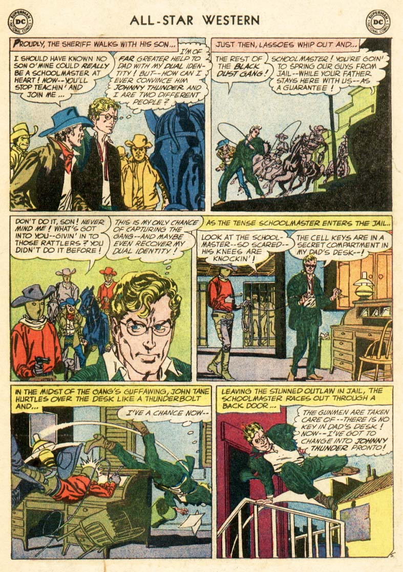 Read online All-Star Western (1951) comic -  Issue #97 - 27