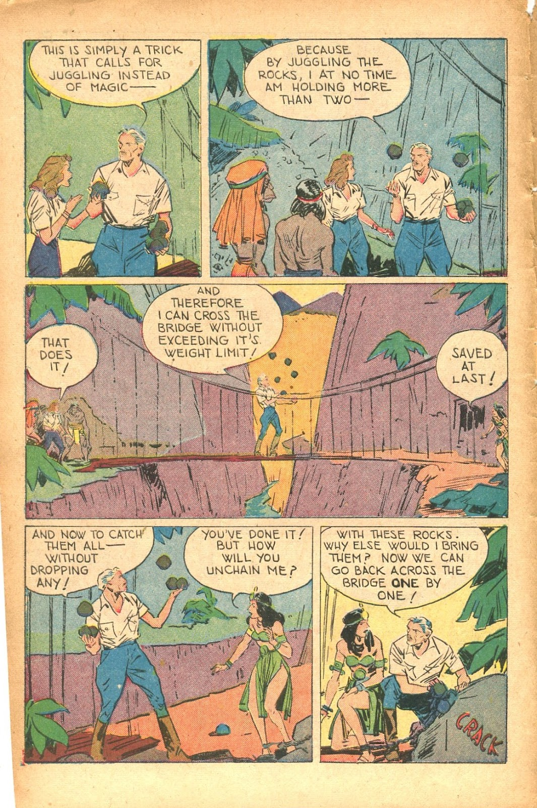 Read online Super-Magician Comics comic -  Issue #35 - 10