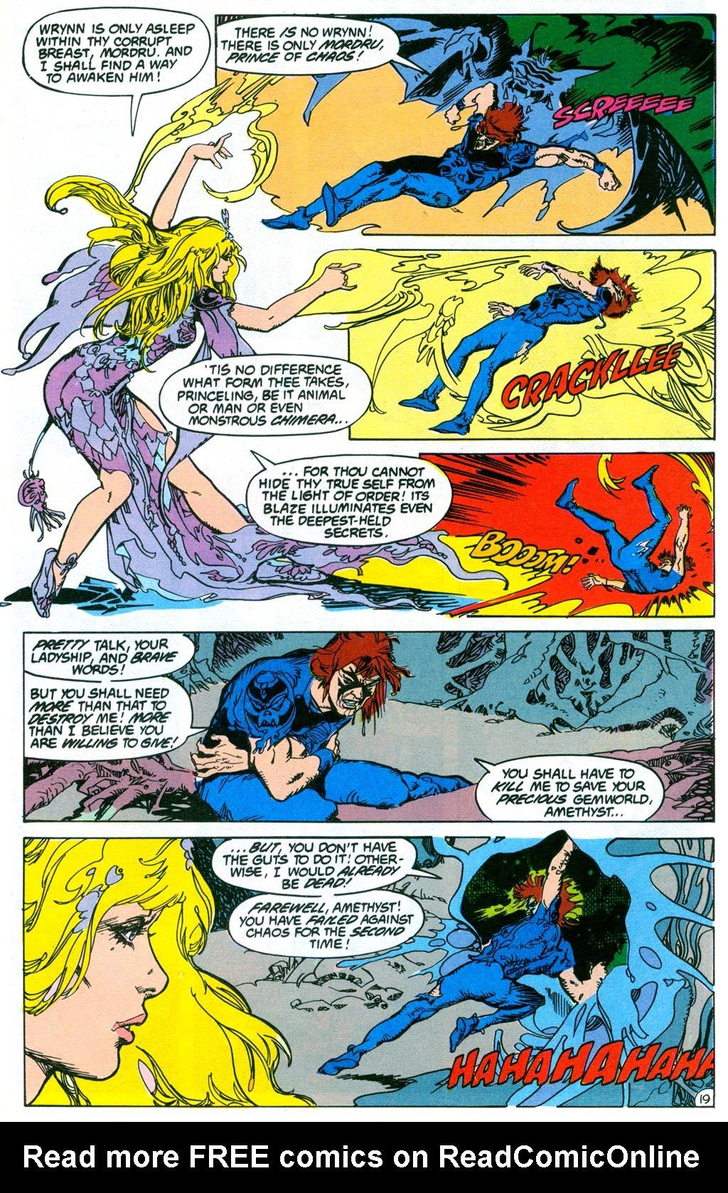 Read online Amethyst (1987) comic -  Issue #2 - 22