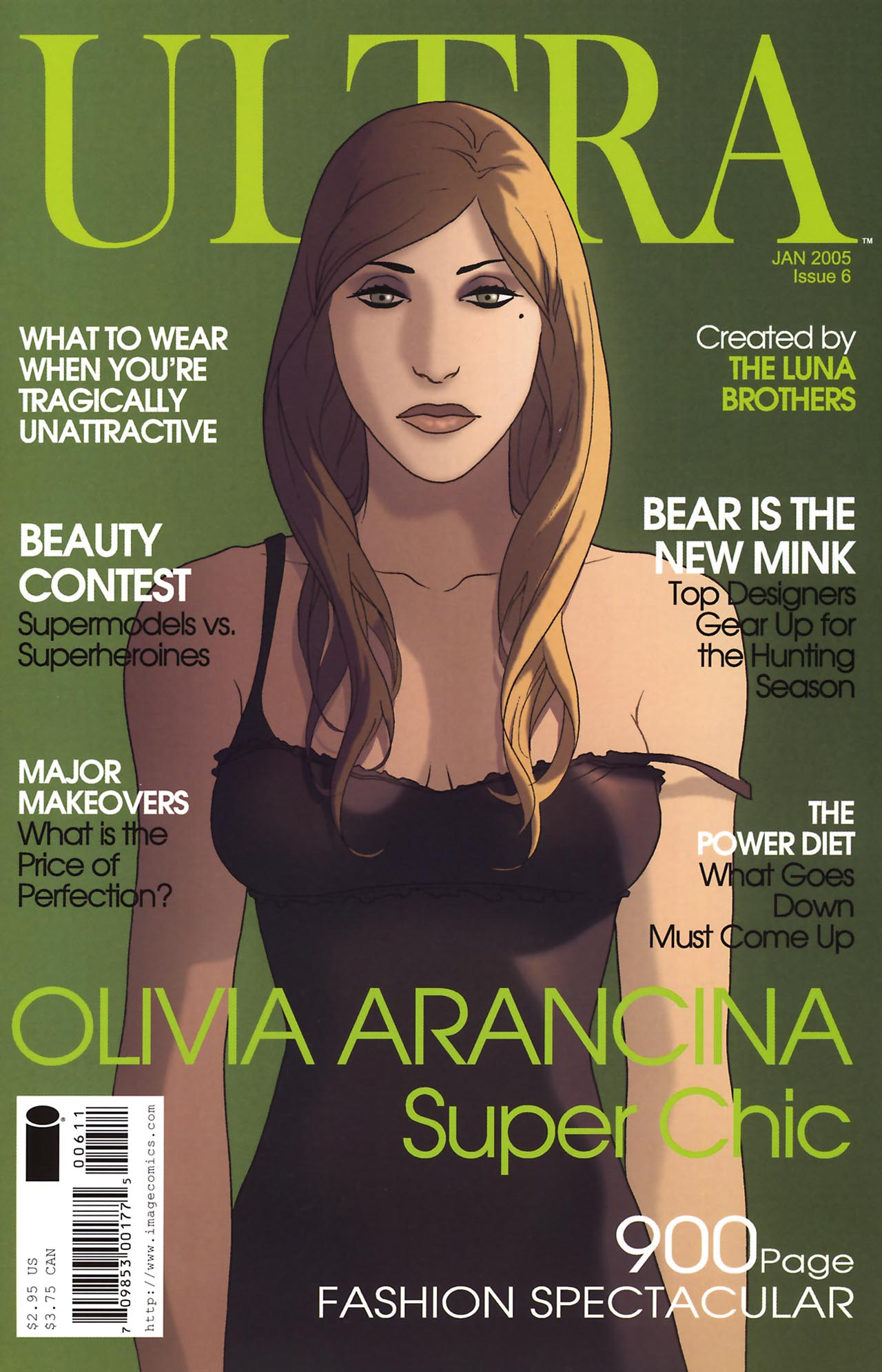 Read online Ultra comic -  Issue #6 - 1