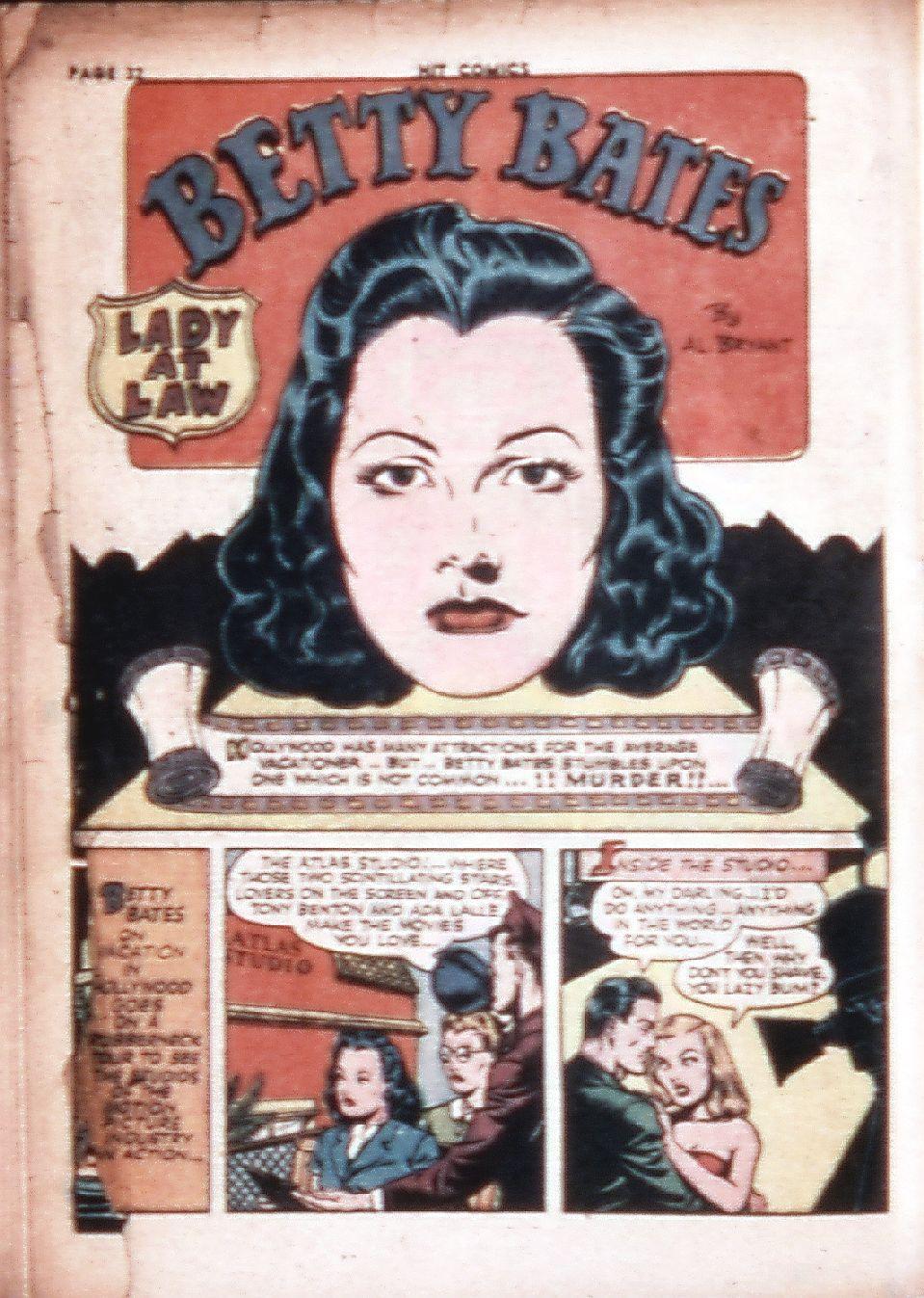 Read online Hit Comics comic -  Issue #29 - 34