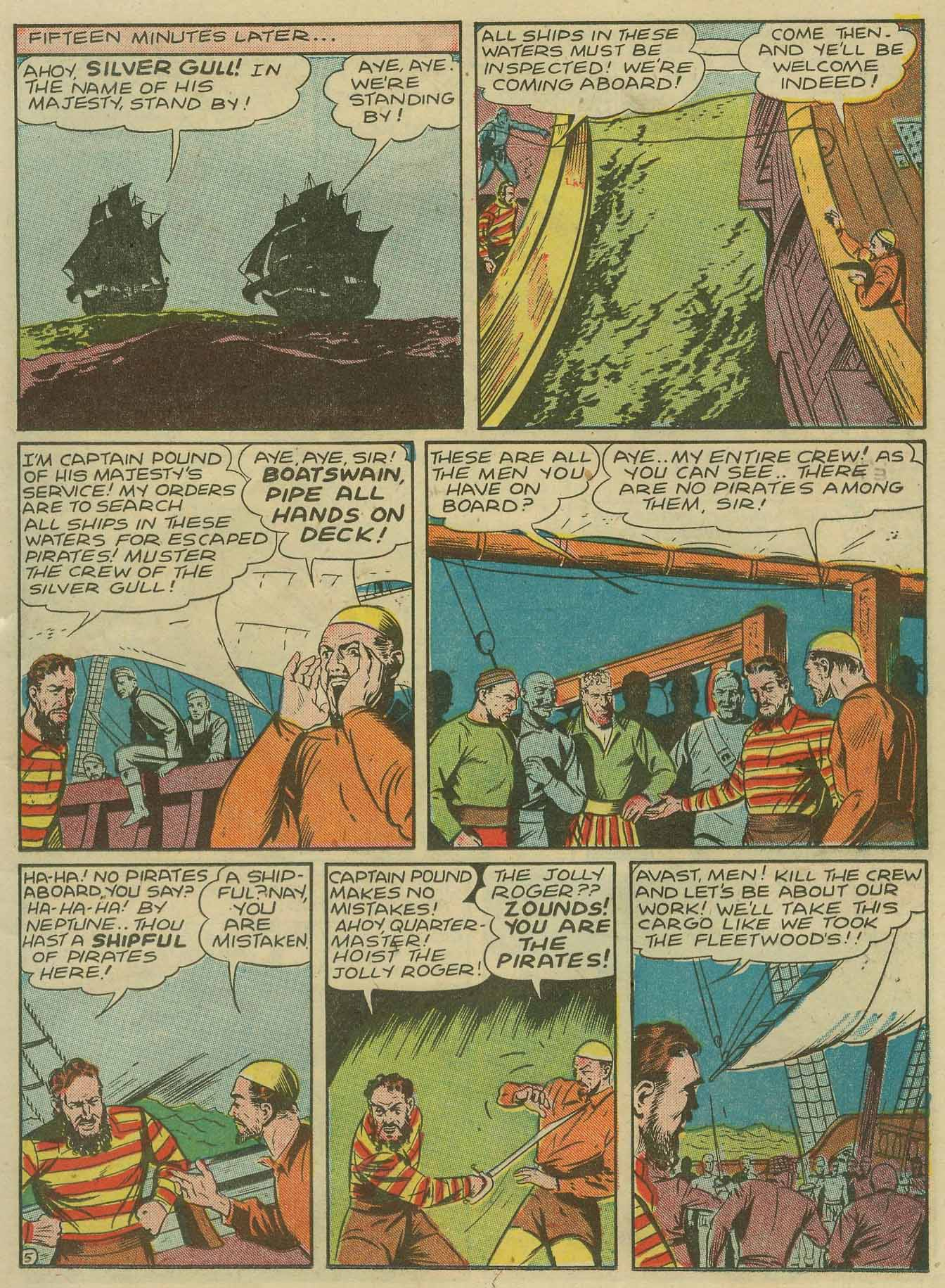 Read online Sensation (Mystery) Comics comic -  Issue #28 - 22
