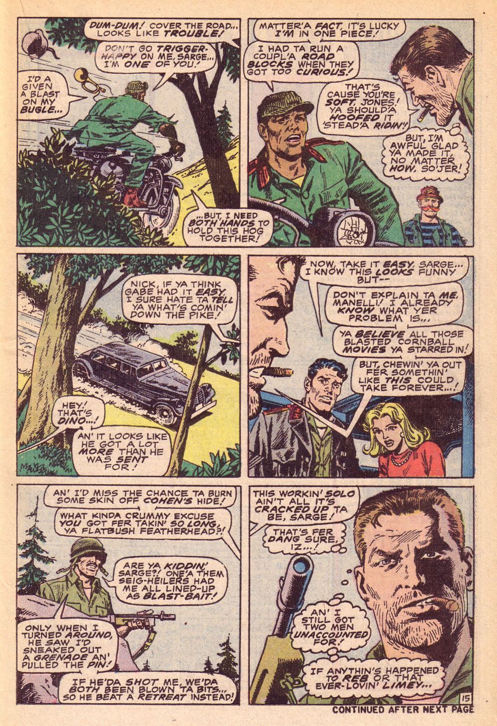 Read online Sgt. Fury comic -  Issue #74 - 21