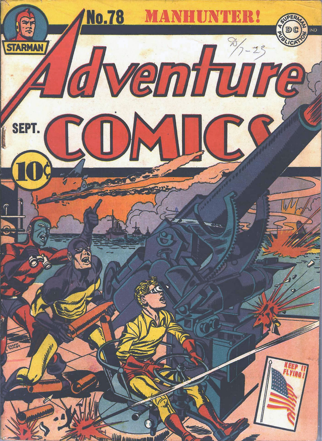 Read online Adventure Comics (1938) comic -  Issue #78 - 2