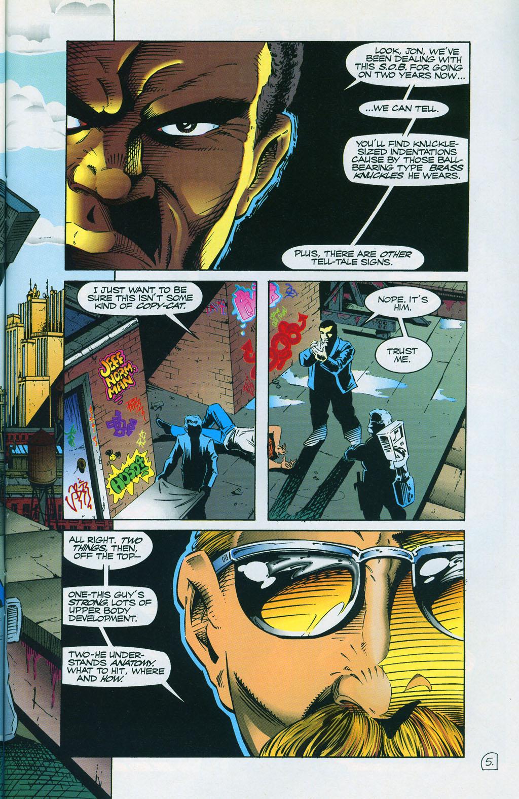Read online ShadowHawk comic -  Issue #7 - 9