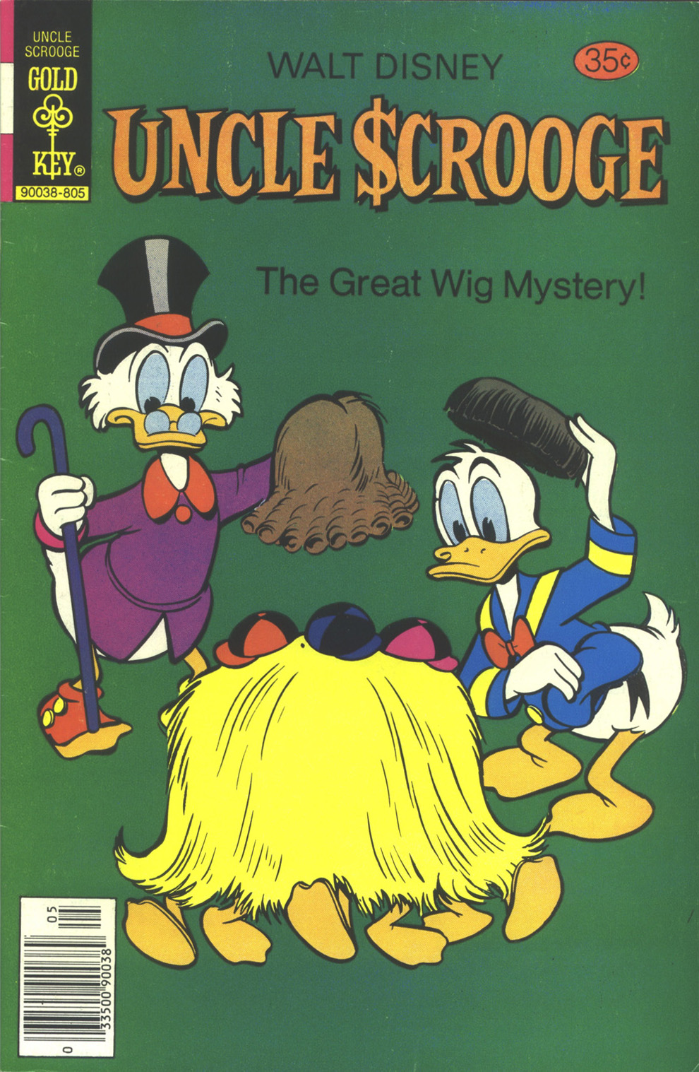Read online Uncle Scrooge (1953) comic -  Issue #152 - 1