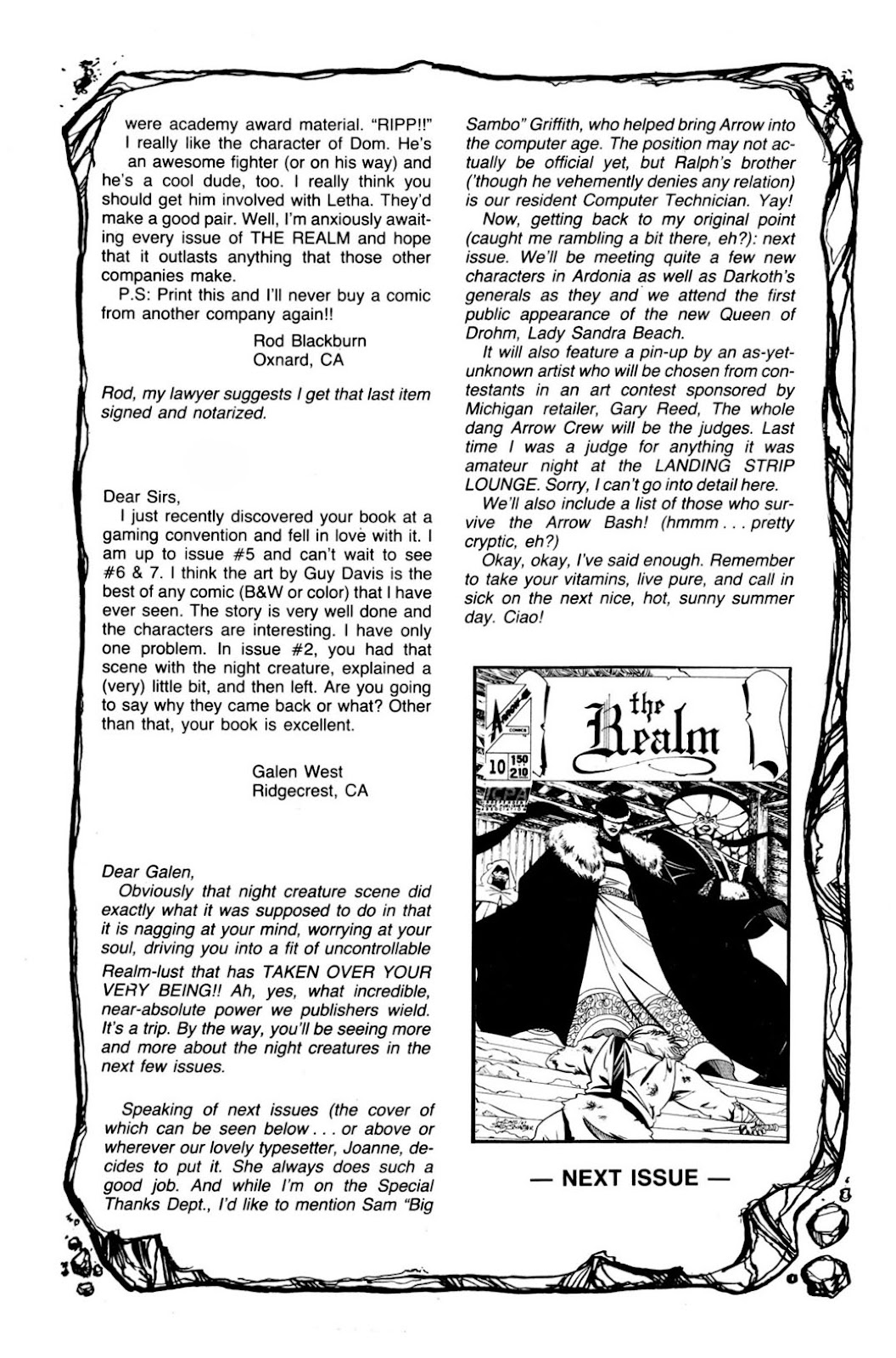 The Realm (1986) issue 9 - Page 34