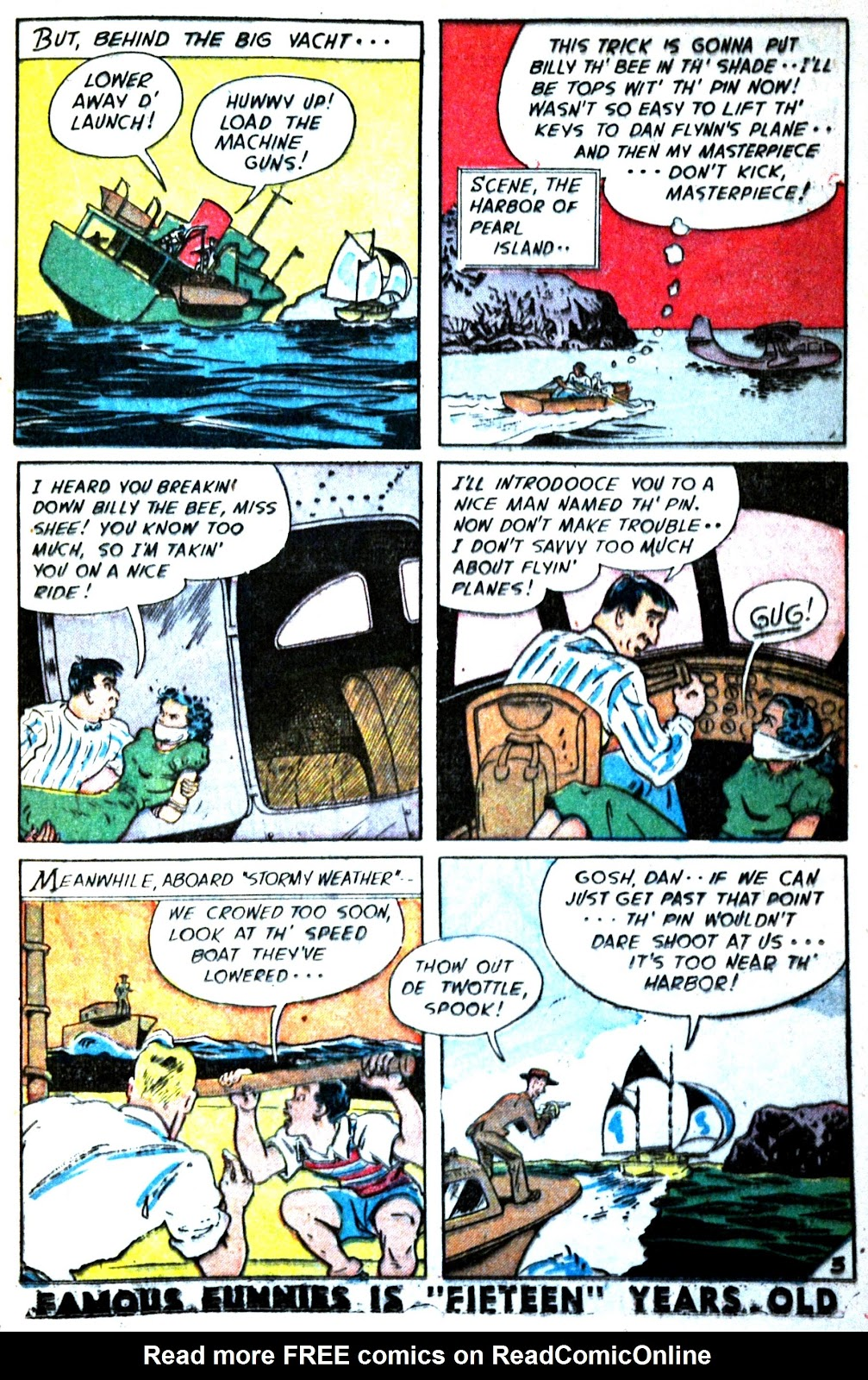 Read online Famous Funnies comic -  Issue #180 - 23