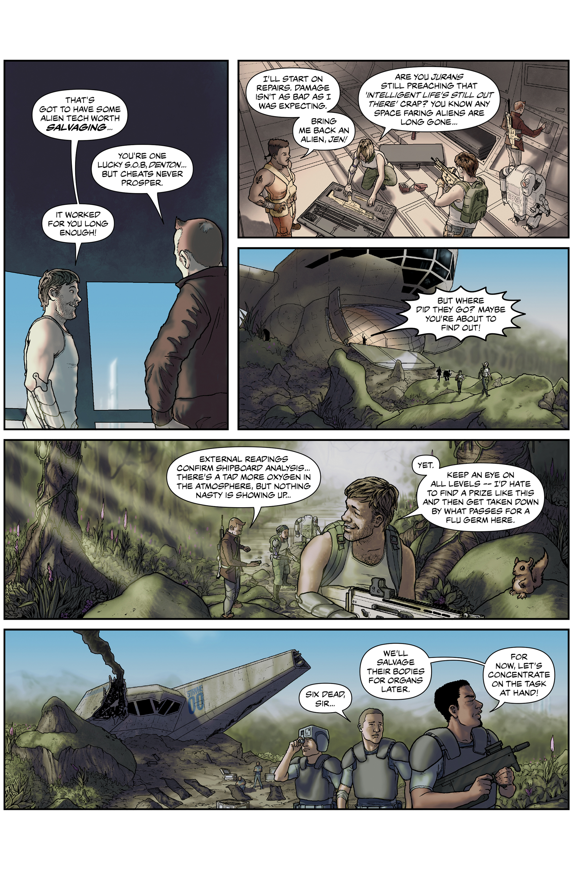 Read online 100% Biodegradable comic -  Issue #15 - 18