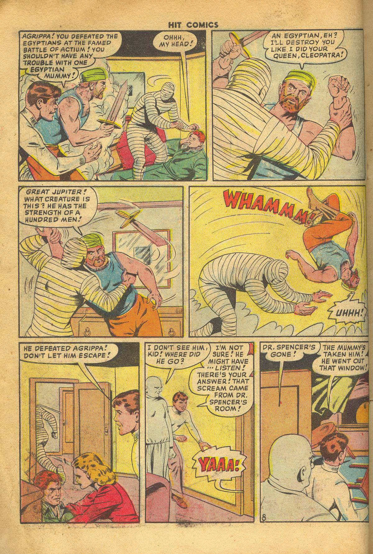 Read online Hit Comics comic -  Issue #60 - 10