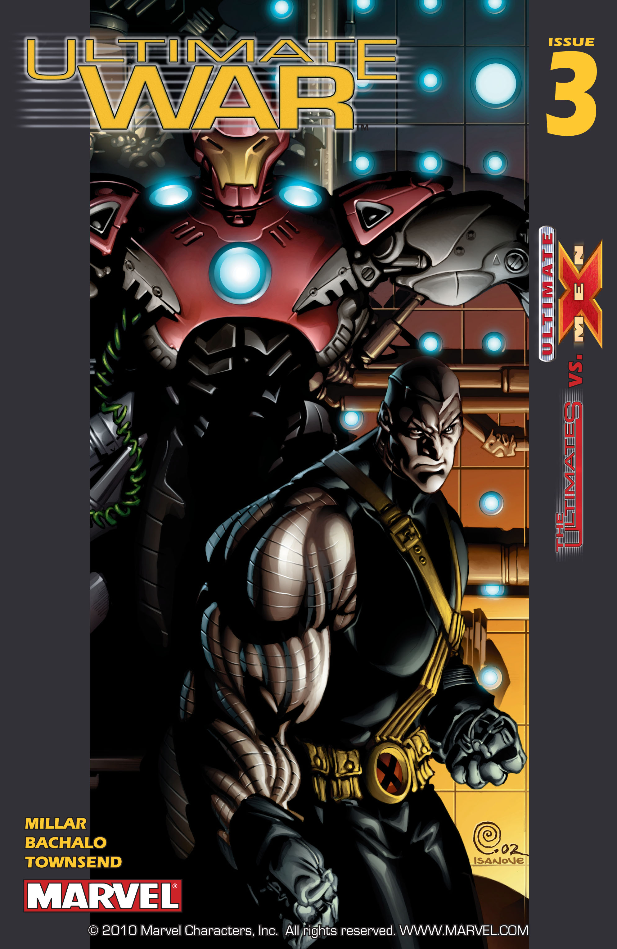 Read online Ultimate War comic -  Issue #3 - 2