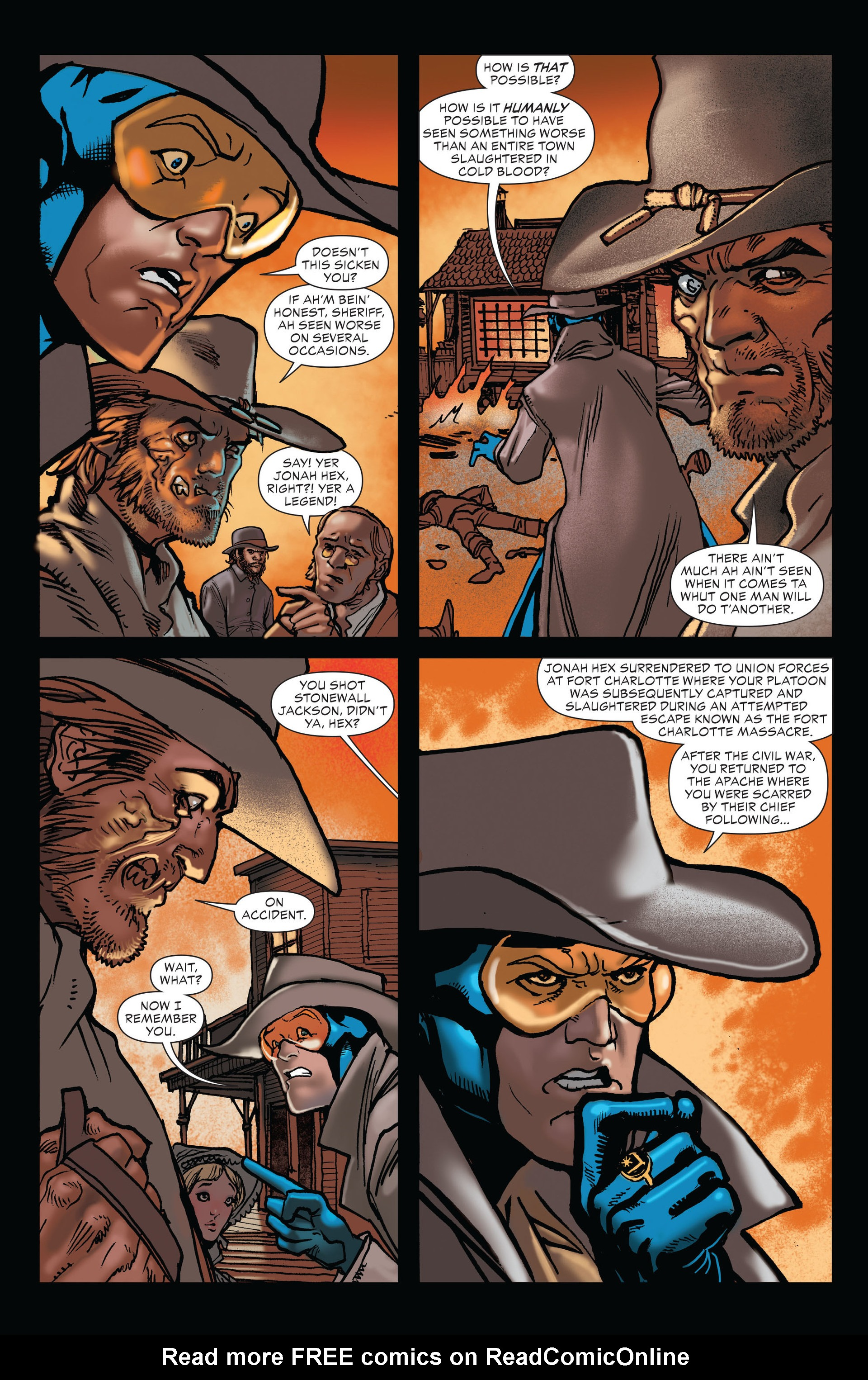 Read online All-Star Western (2011) comic -  Issue #19 - 12
