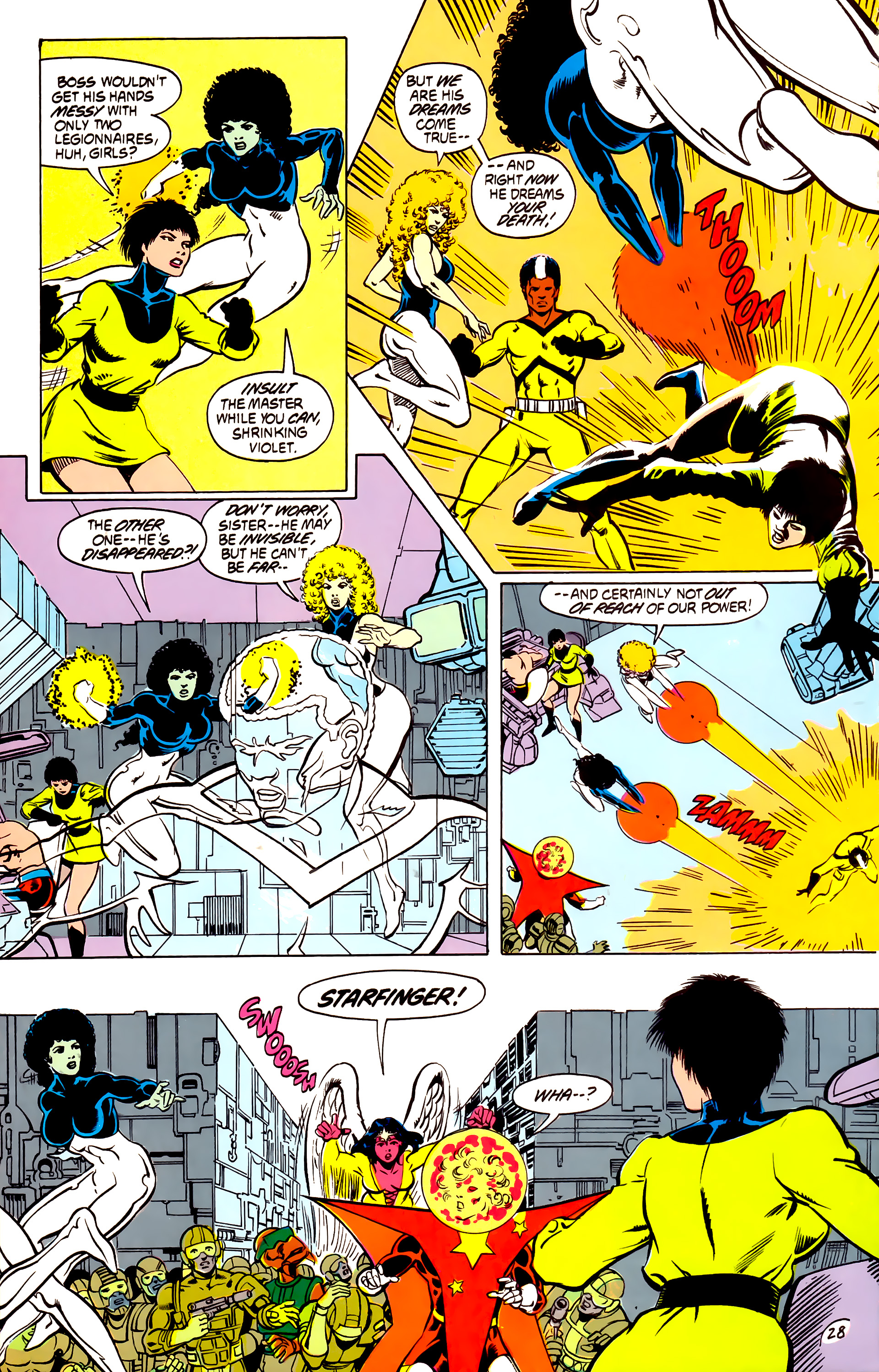 Legion of Super-Heroes (1984) _Annual_4 Page 28