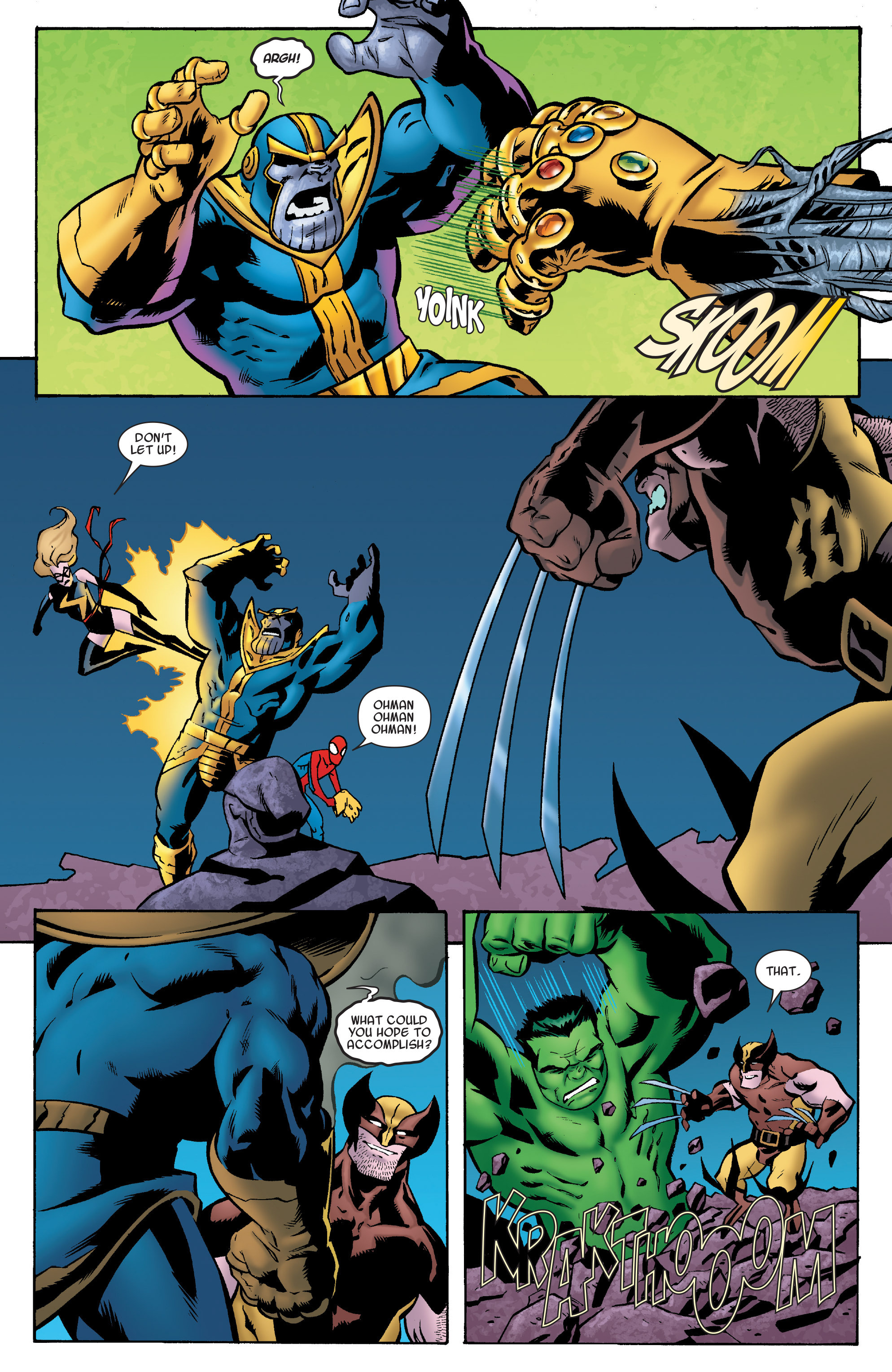 Read online Avengers & the Infinity Gauntlet comic -  Issue #4 - 17
