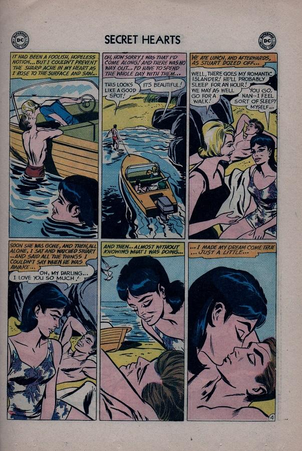 Read online Secret Hearts comic -  Issue #79 - 21