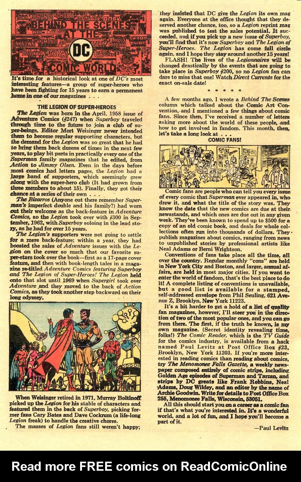 Read online Secret Origins (1973) comic -  Issue #5 - 20