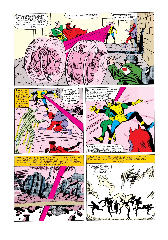 Read online Uncanny X-Men (1963) comic -  Issue #4 - 18