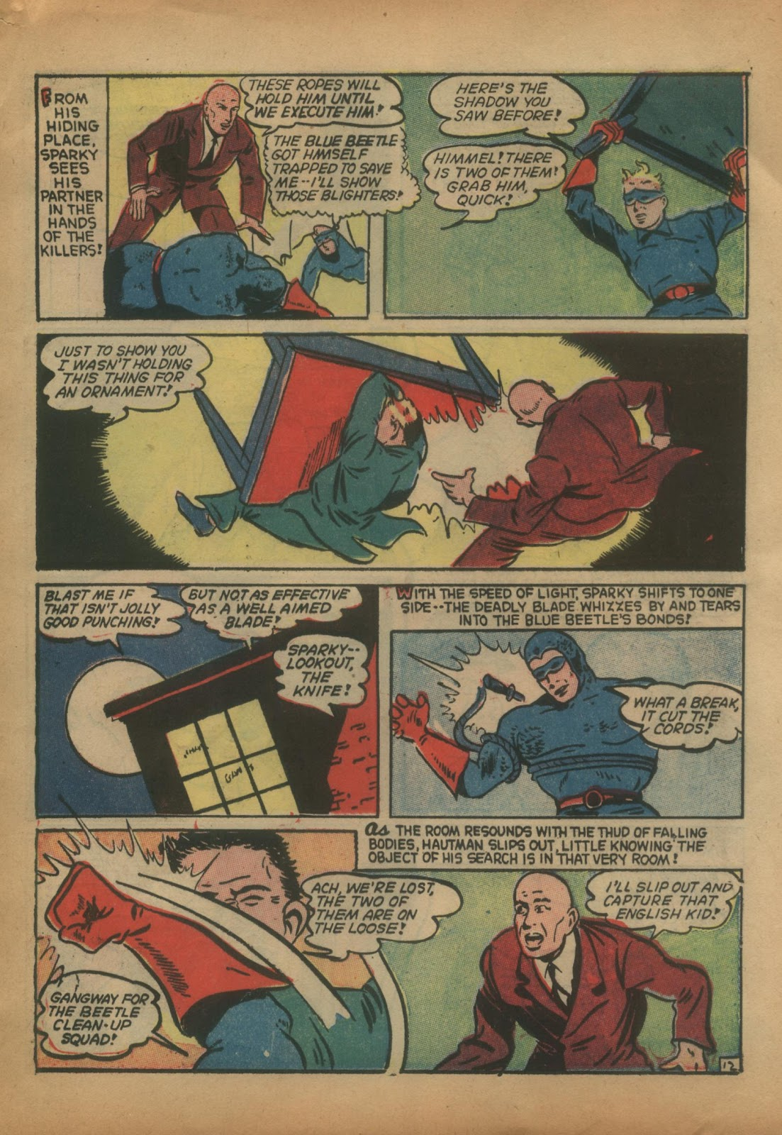 The Blue Beetle issue 15 - Page 31