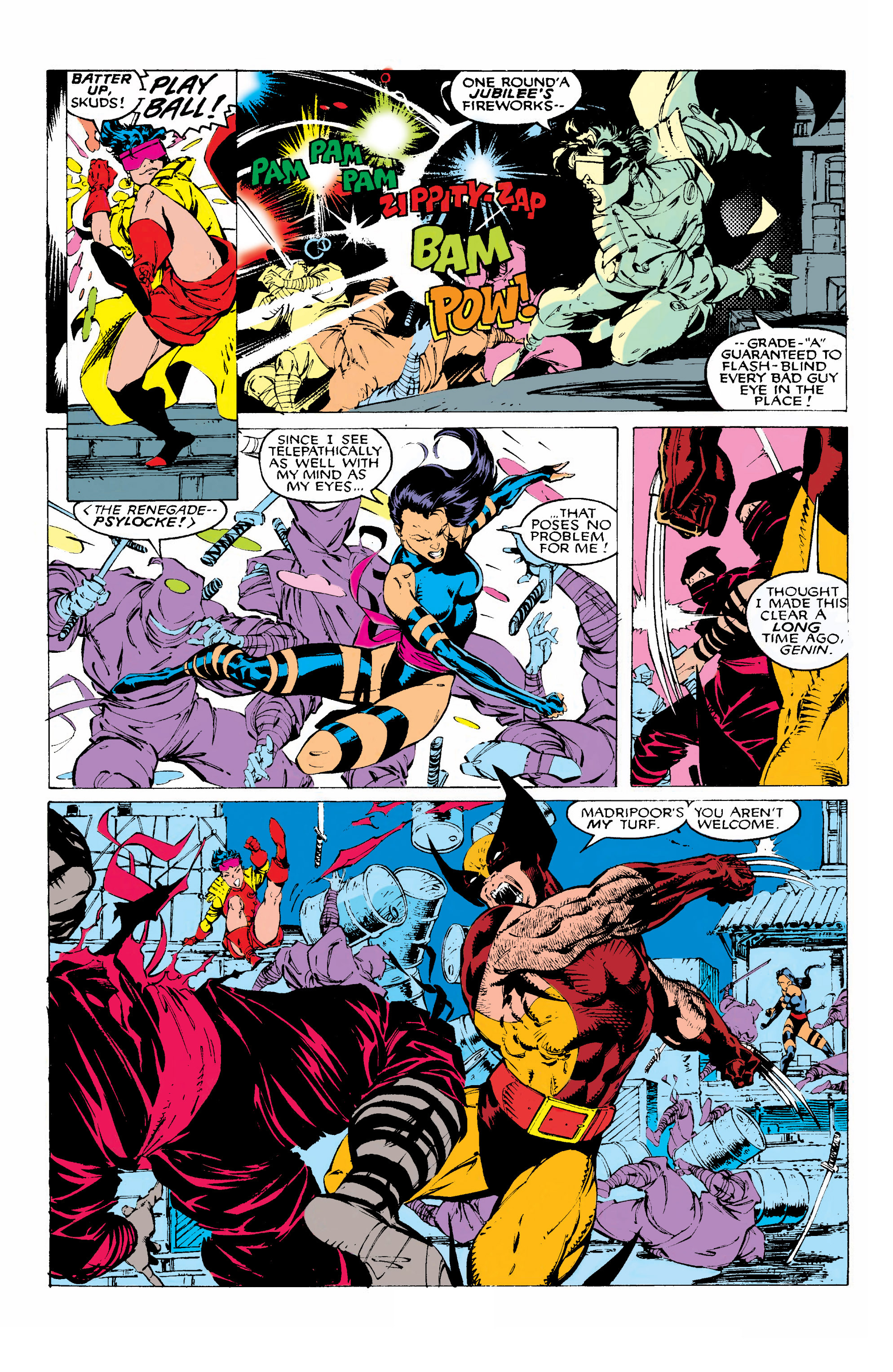 Read online Uncanny X-Men (1963) comic -  Issue #268 - 7