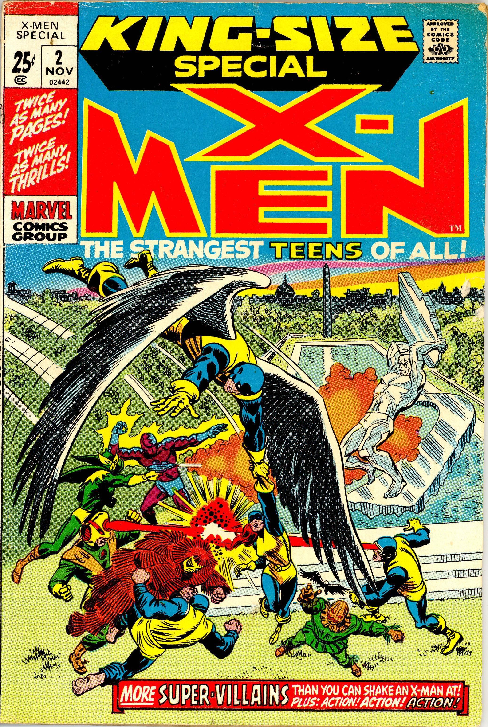 X-Men Annual 2 Page 1