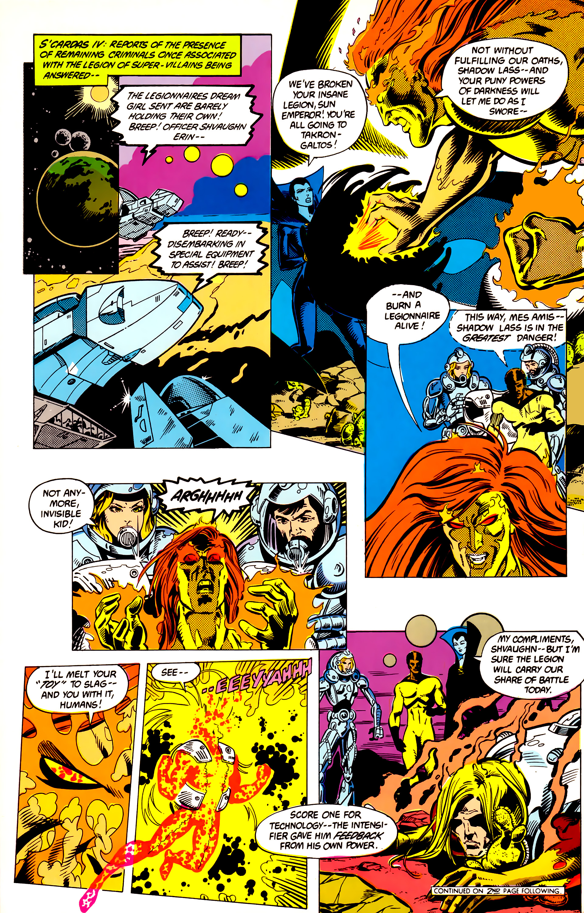 Legion of Super-Heroes (1984) 8 Page 9