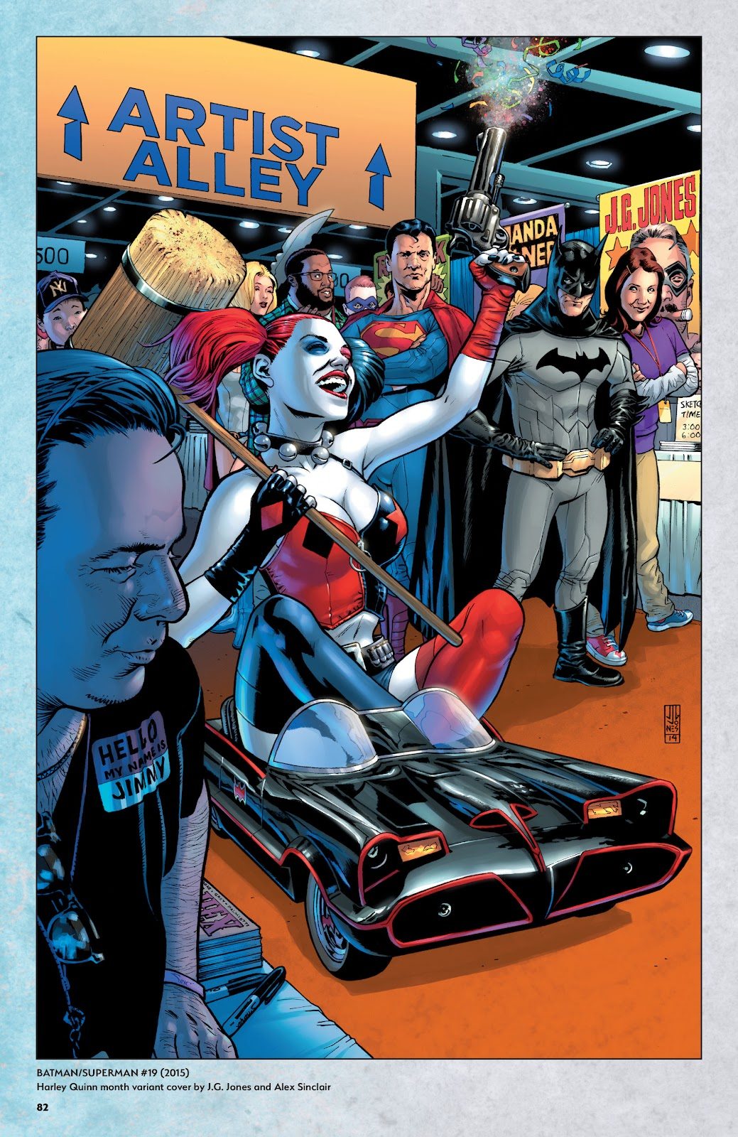 Read online Harley Quinn: A Rogue's Gallery―The Deluxe Cover Art Collection comic -  Issue # TPB (Part 1) - 79