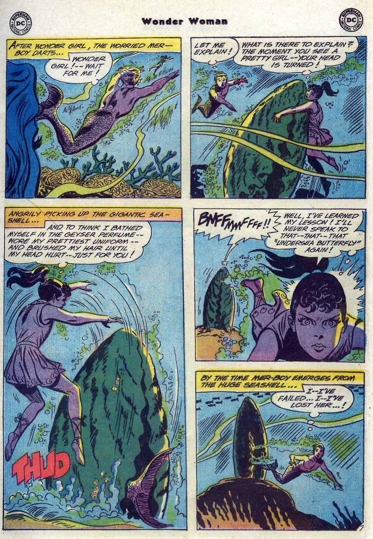 Read online Wonder Woman (1942) comic -  Issue #116 - 9