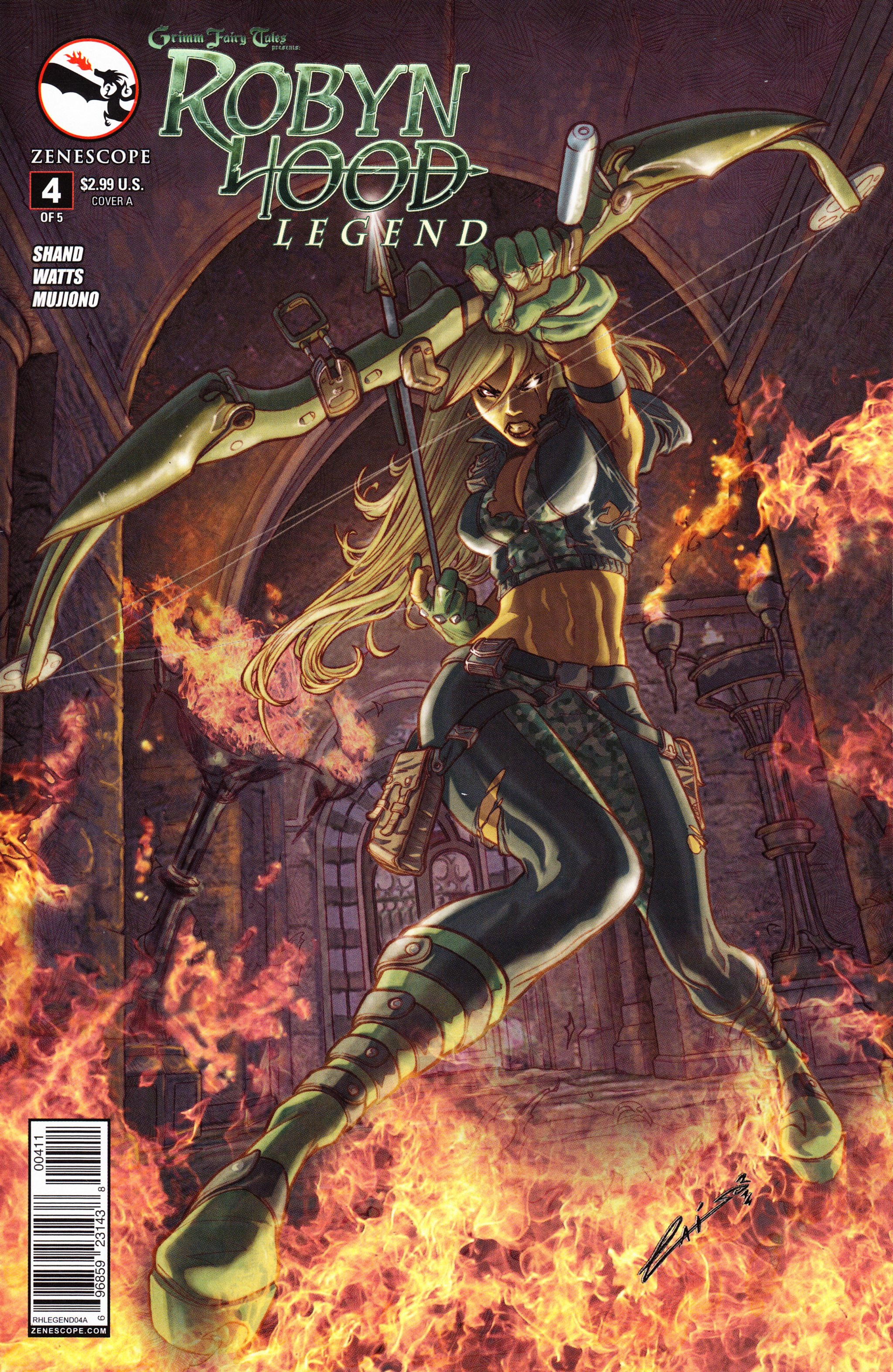 Grimm Fairy Tales presents Robyn Hood: Legend 4 Page 1