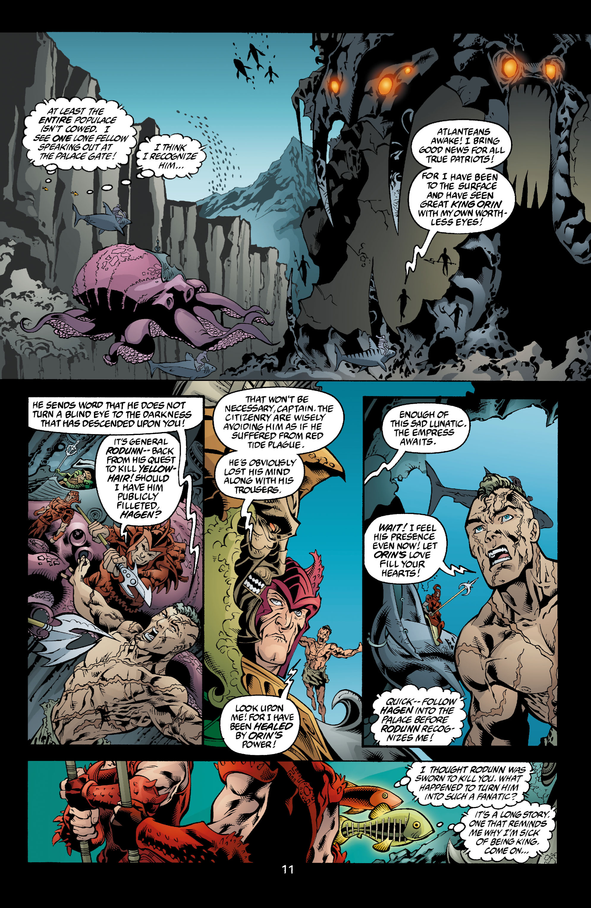 Read online Aquaman (2003) comic -  Issue #4 - 12