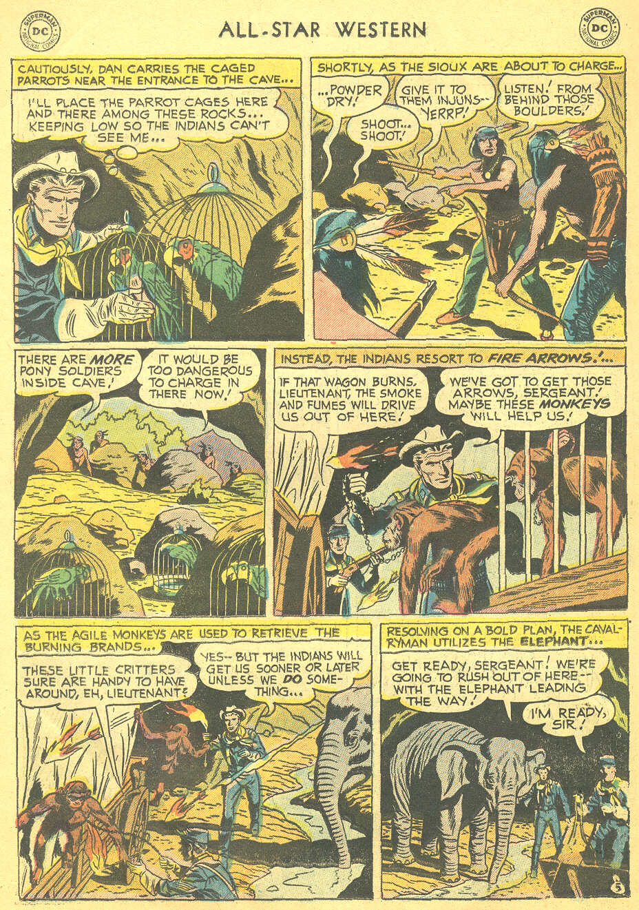 Read online All-Star Western (1951) comic -  Issue #88 - 22