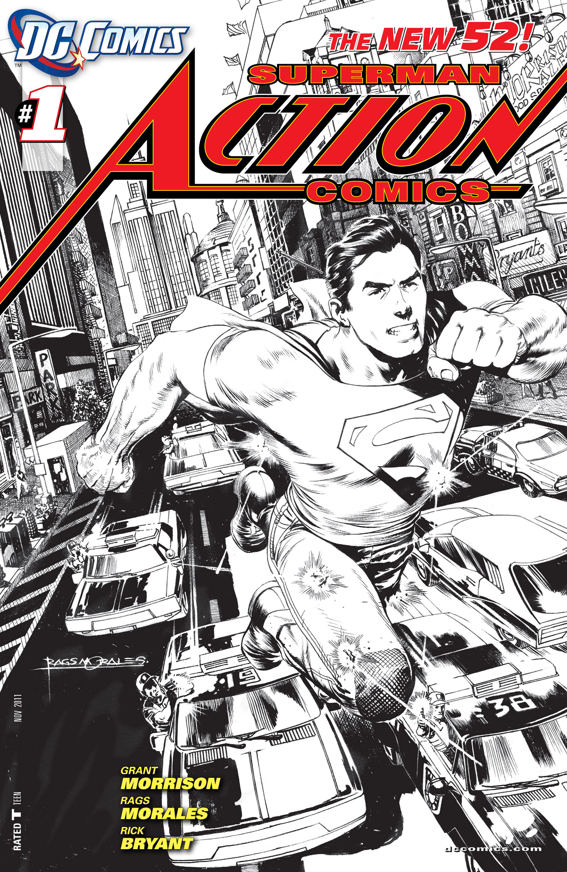 Read online Action Comics (2011) comic -  Issue #1 - 2