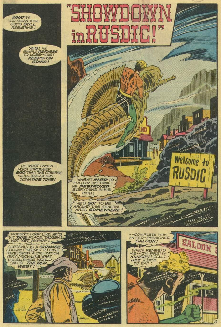 Read online Aquaman (1962) comic -  Issue #54 - 18