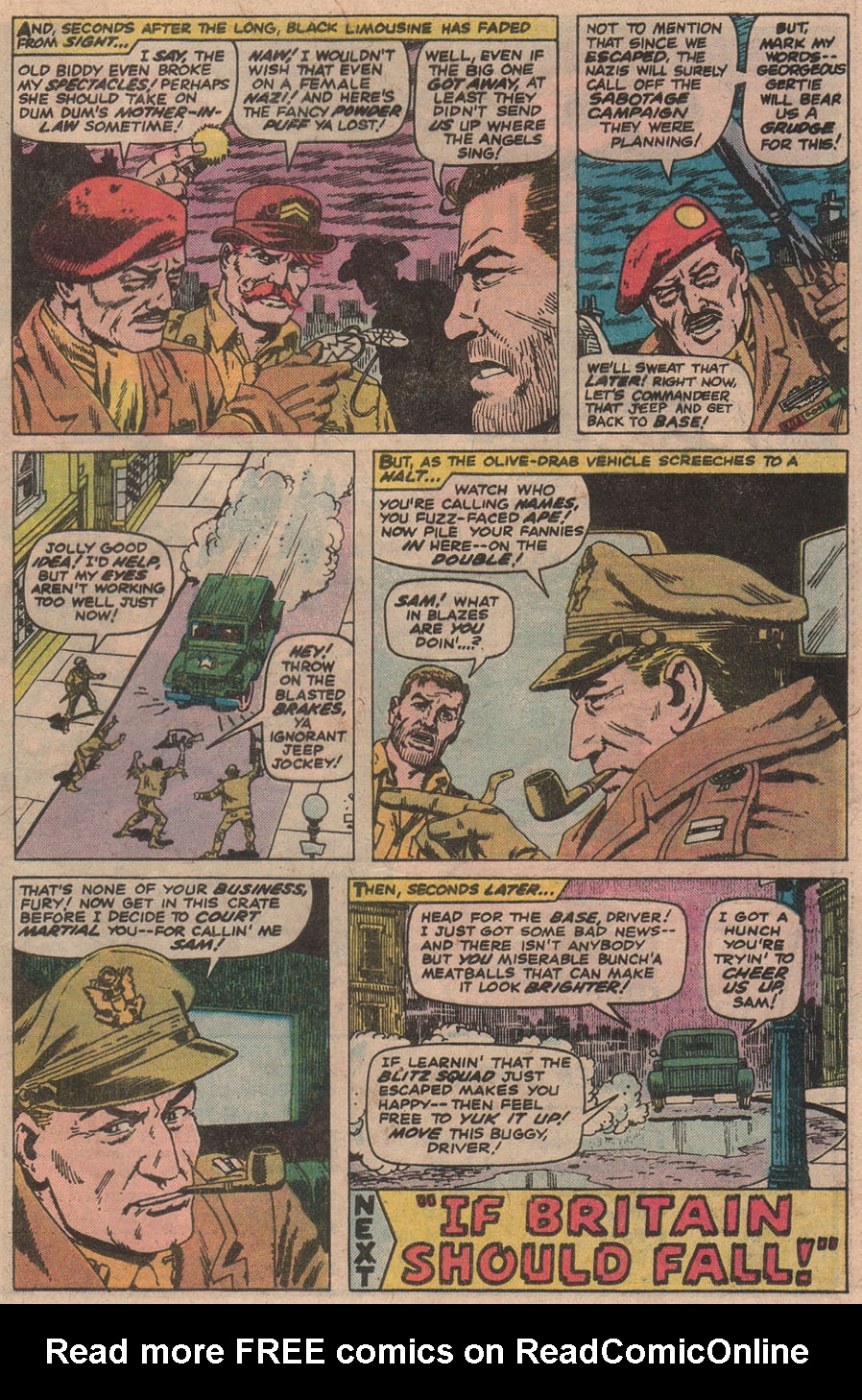 Read online Sgt. Fury comic -  Issue #142 - 33