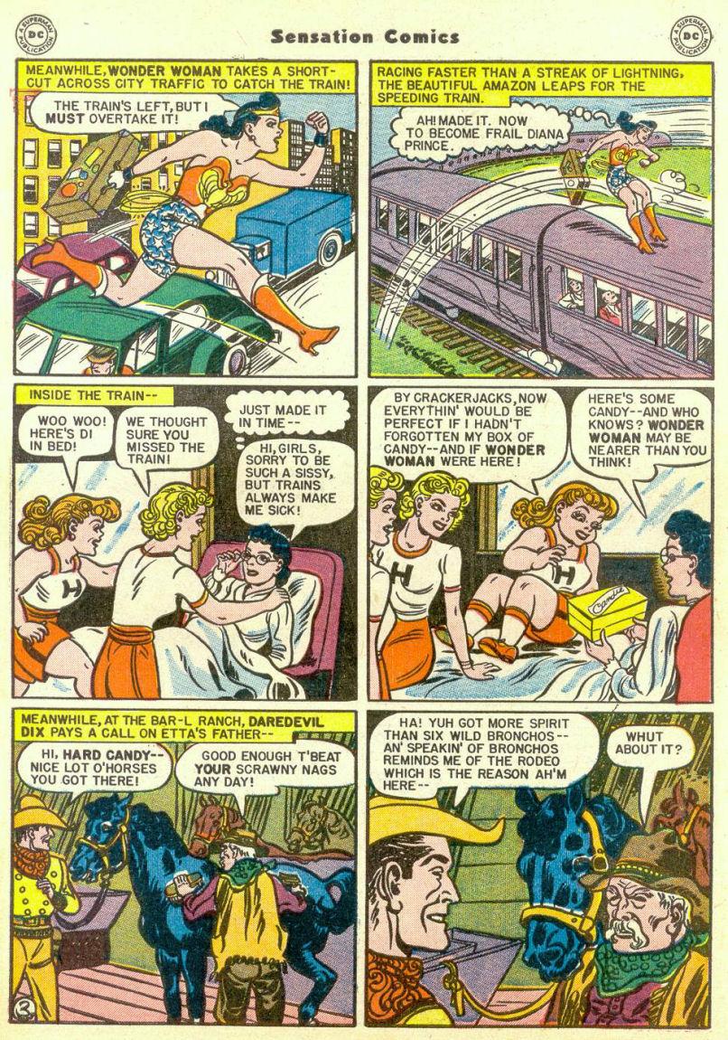 Read online Sensation (Mystery) Comics comic -  Issue #67 - 5