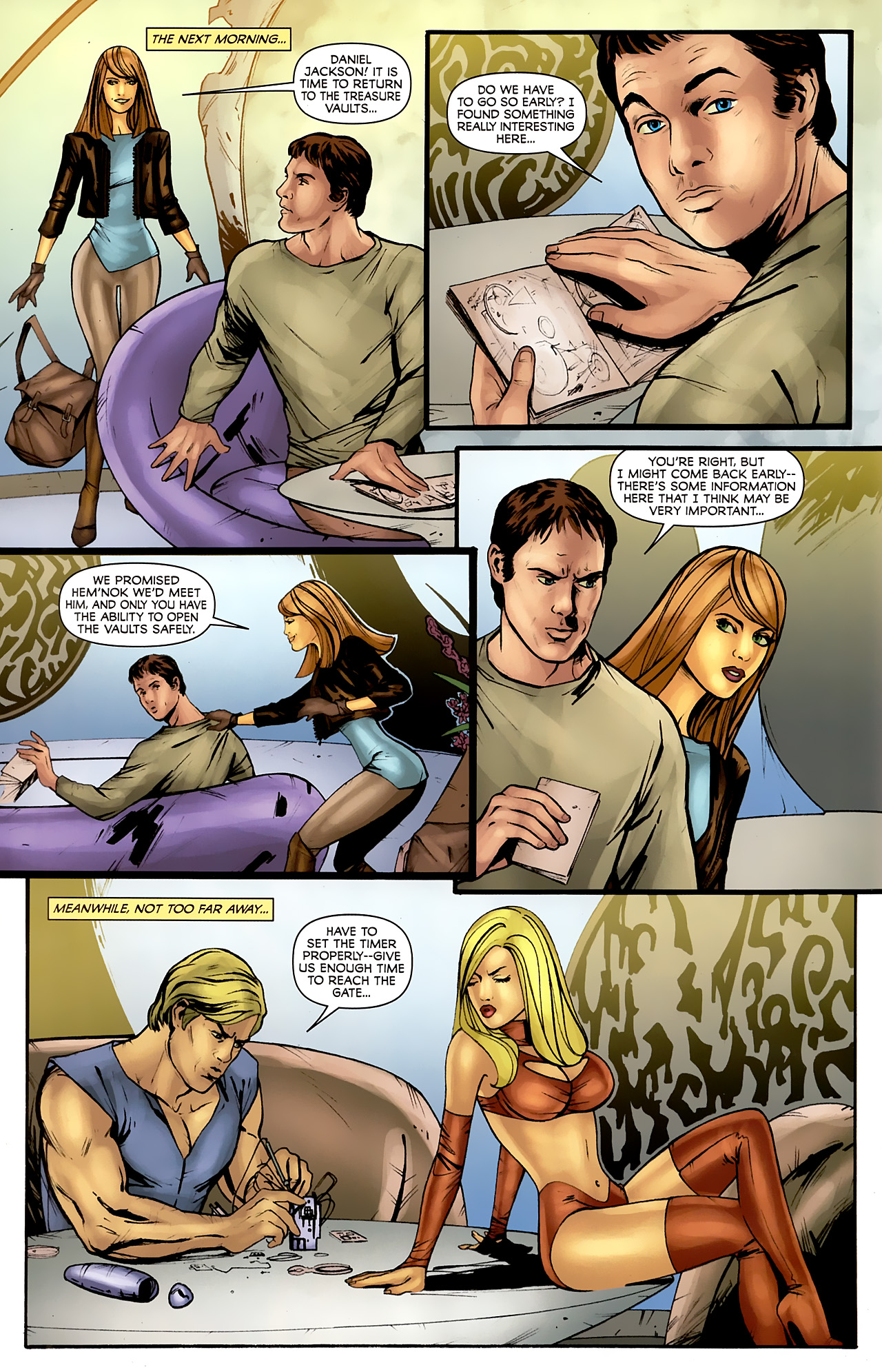 Read online Stargate: Daniel Jackson comic -  Issue #4 - 12