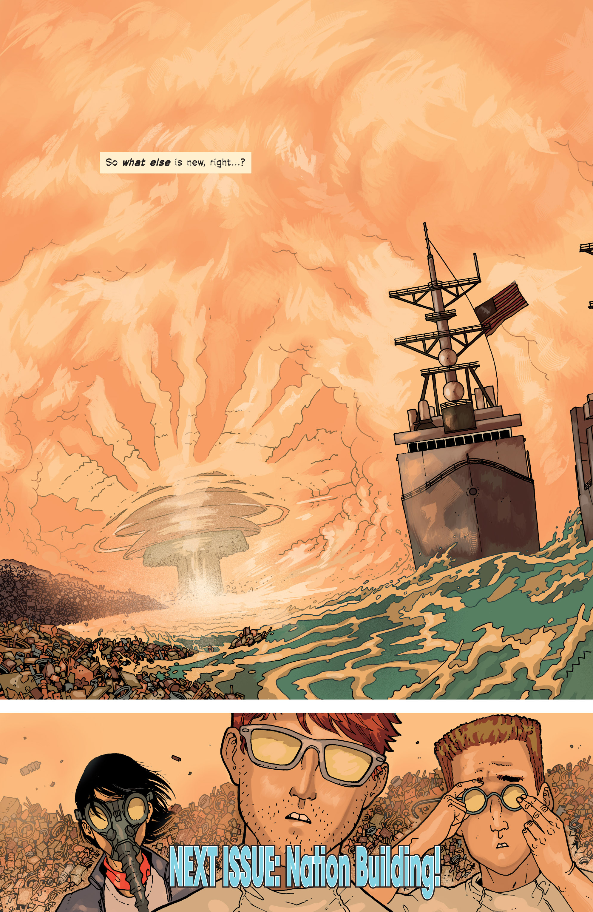 Read online Great Pacific comic -  Issue #6 - 26