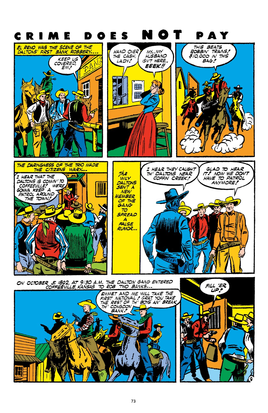 Read online Crime Does Not Pay Archives comic -  Issue # TPB 2 (Part 1) - 73