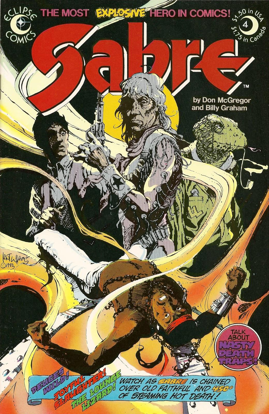 Sabre (1982) 4 Page 1